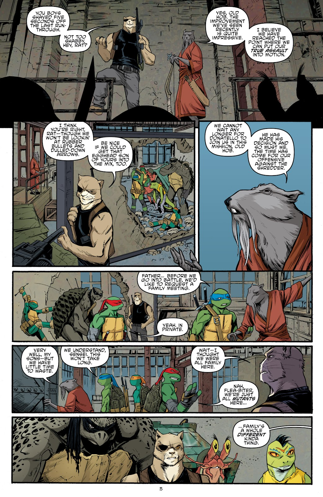 Read online Teenage Mutant Ninja Turtles: The IDW Collection comic -  Issue # TPB 5 (Part 3) - 74