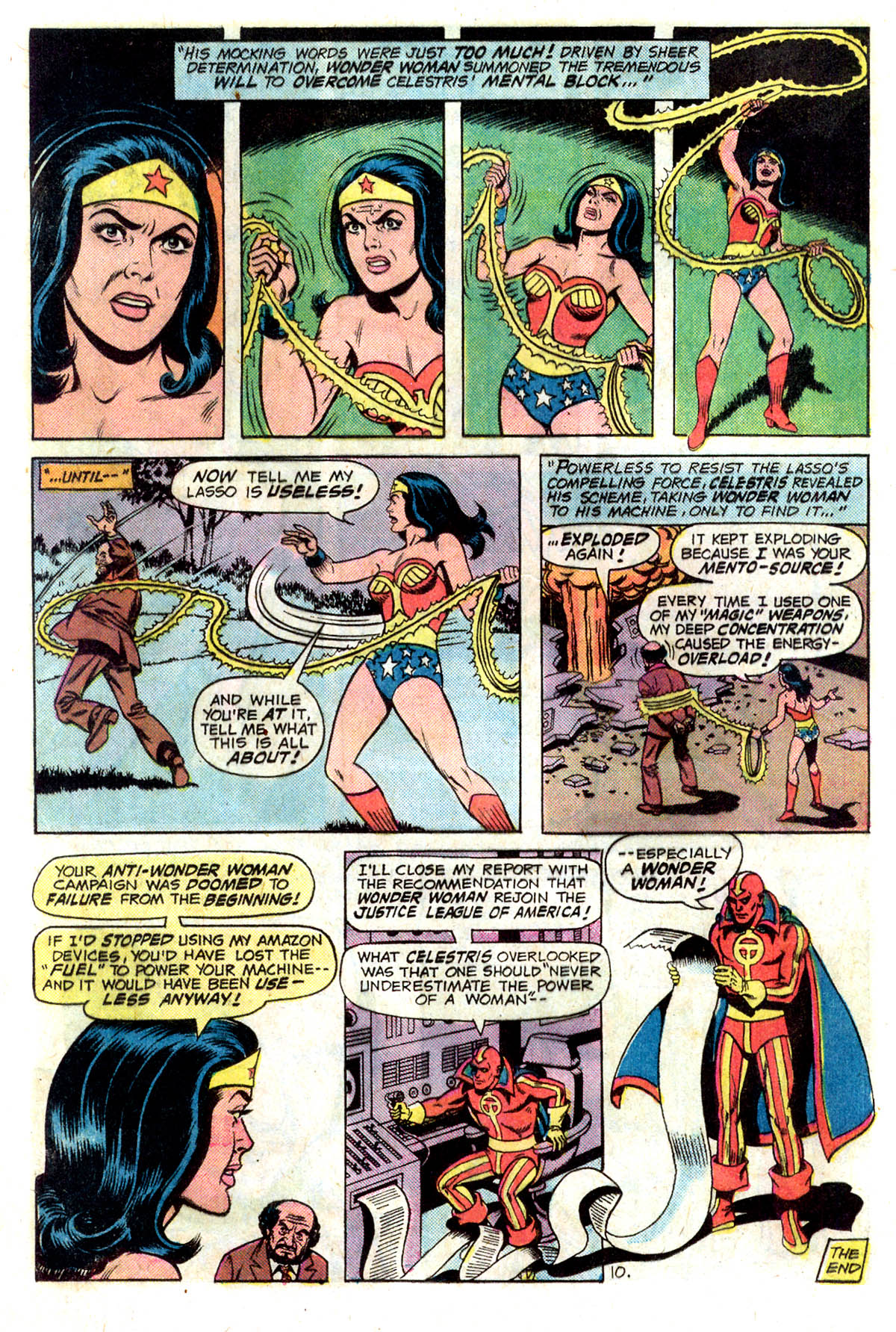 Read online Wonder Woman (1942) comic -  Issue #218 - 12