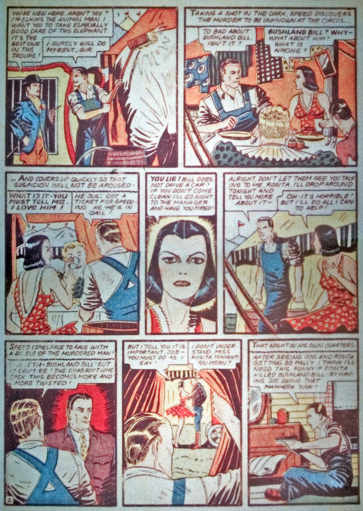 Read online Detective Comics (1937) comic -  Issue #31 - 37