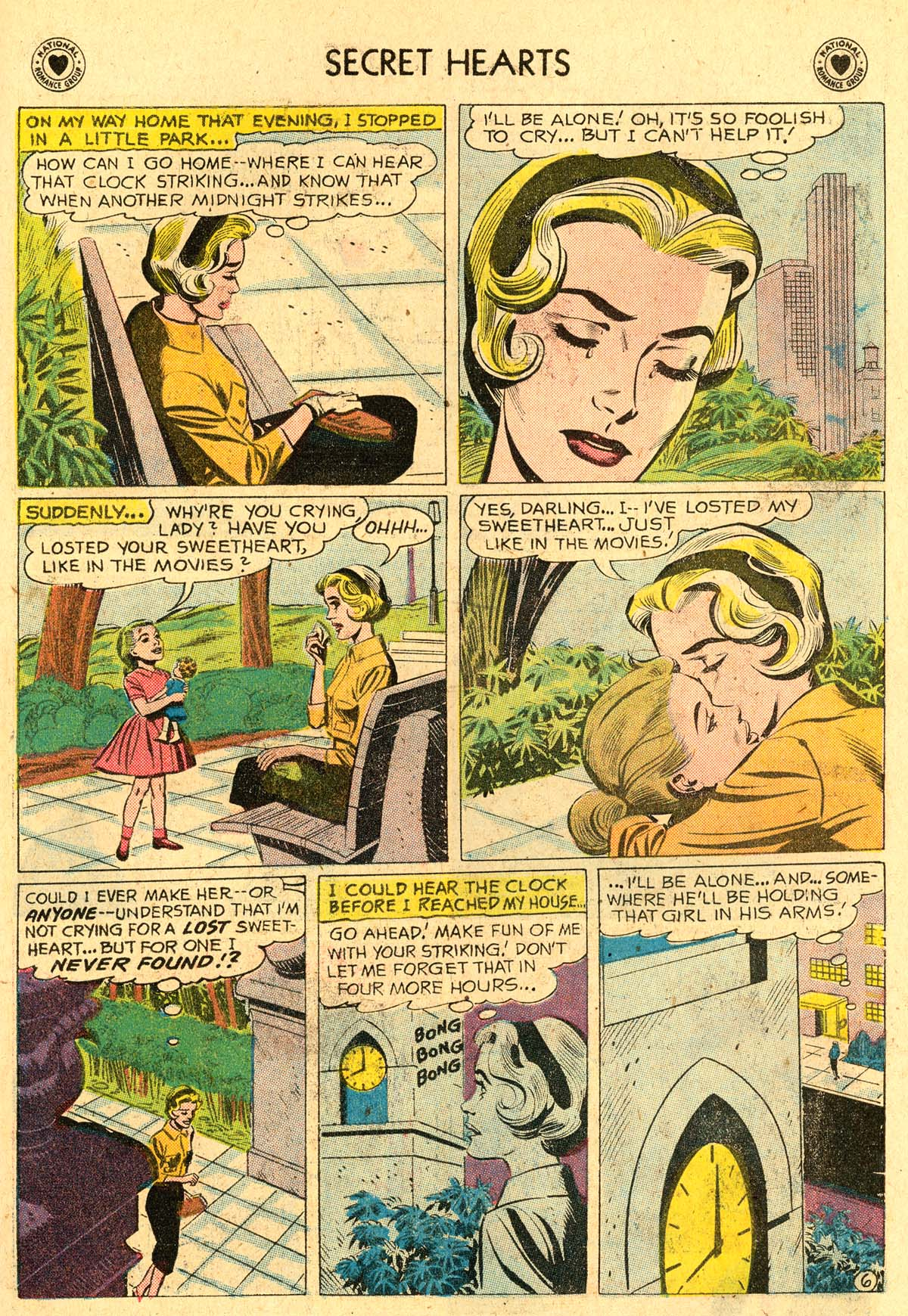 Read online Secret Hearts comic -  Issue #60 - 23