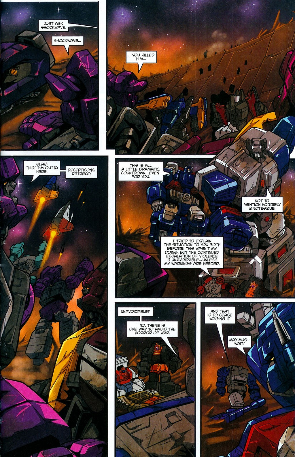 Read online Transformers: Micromasters comic -  Issue #4 - 23