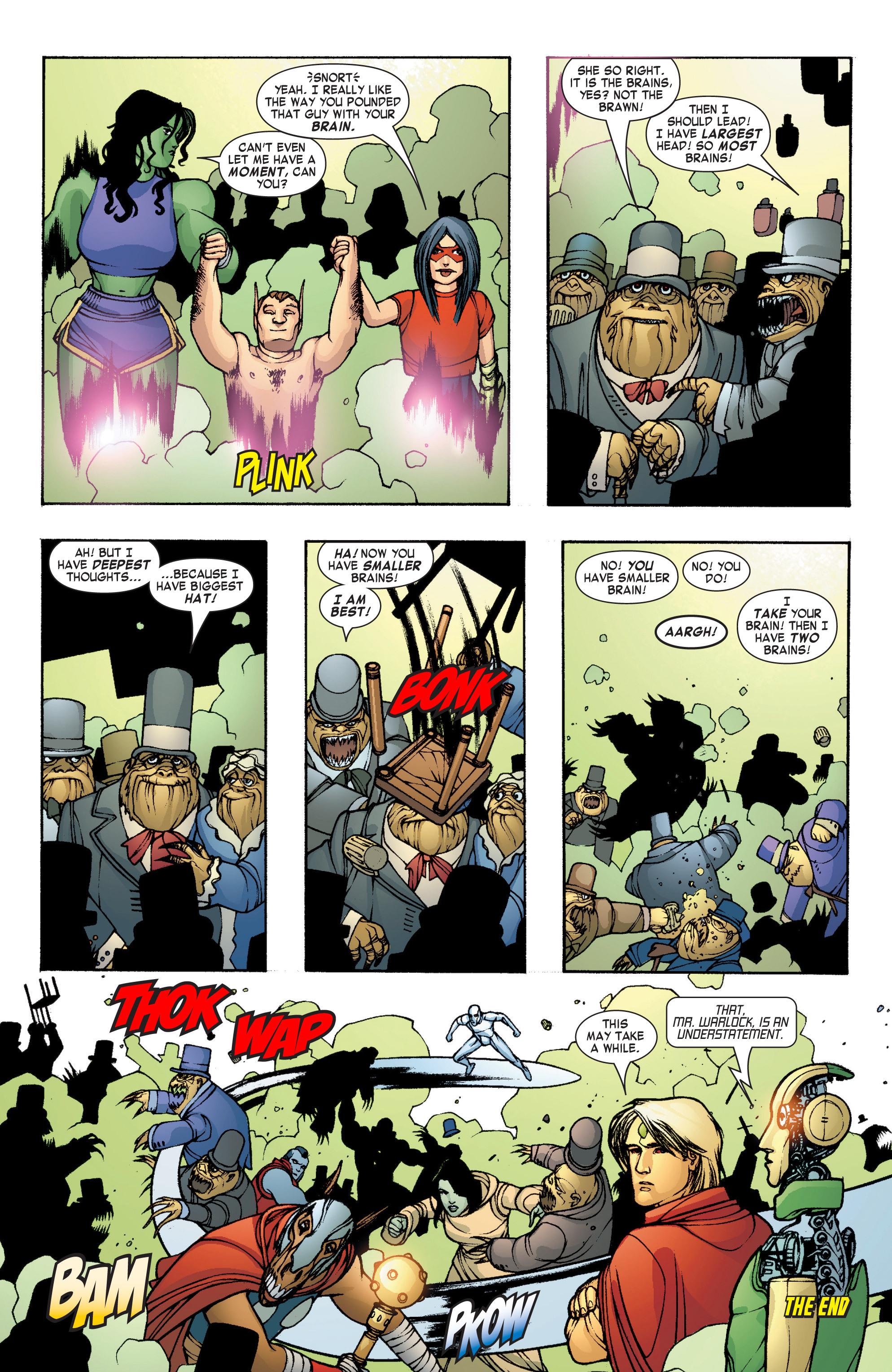 Read online She-Hulk (2004) comic -  Issue #8 - 24
