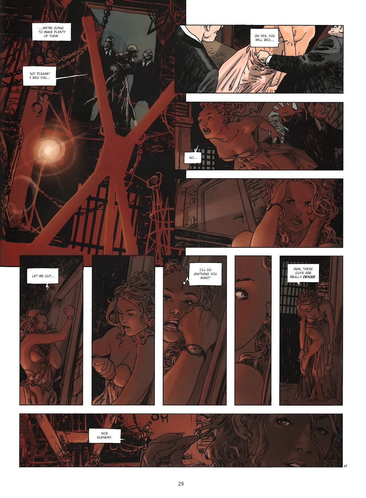 Read online Cutting Edge (2013) comic -  Issue #2 - 28