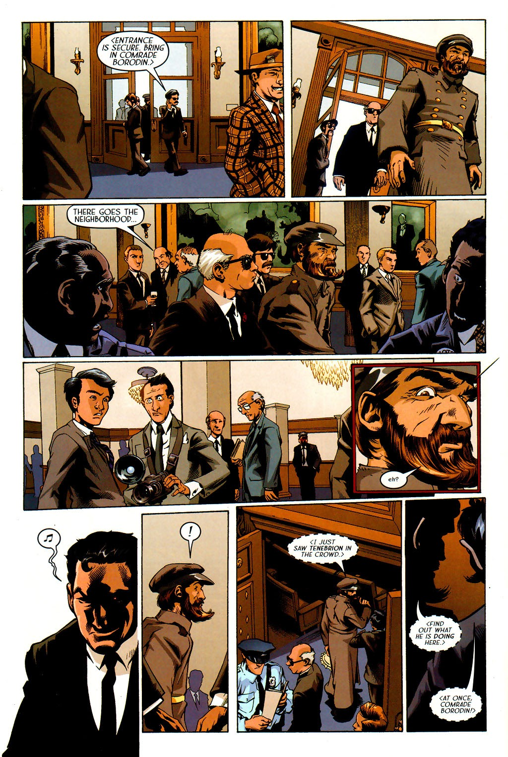 Read online Route 666 comic -  Issue #19 - 12