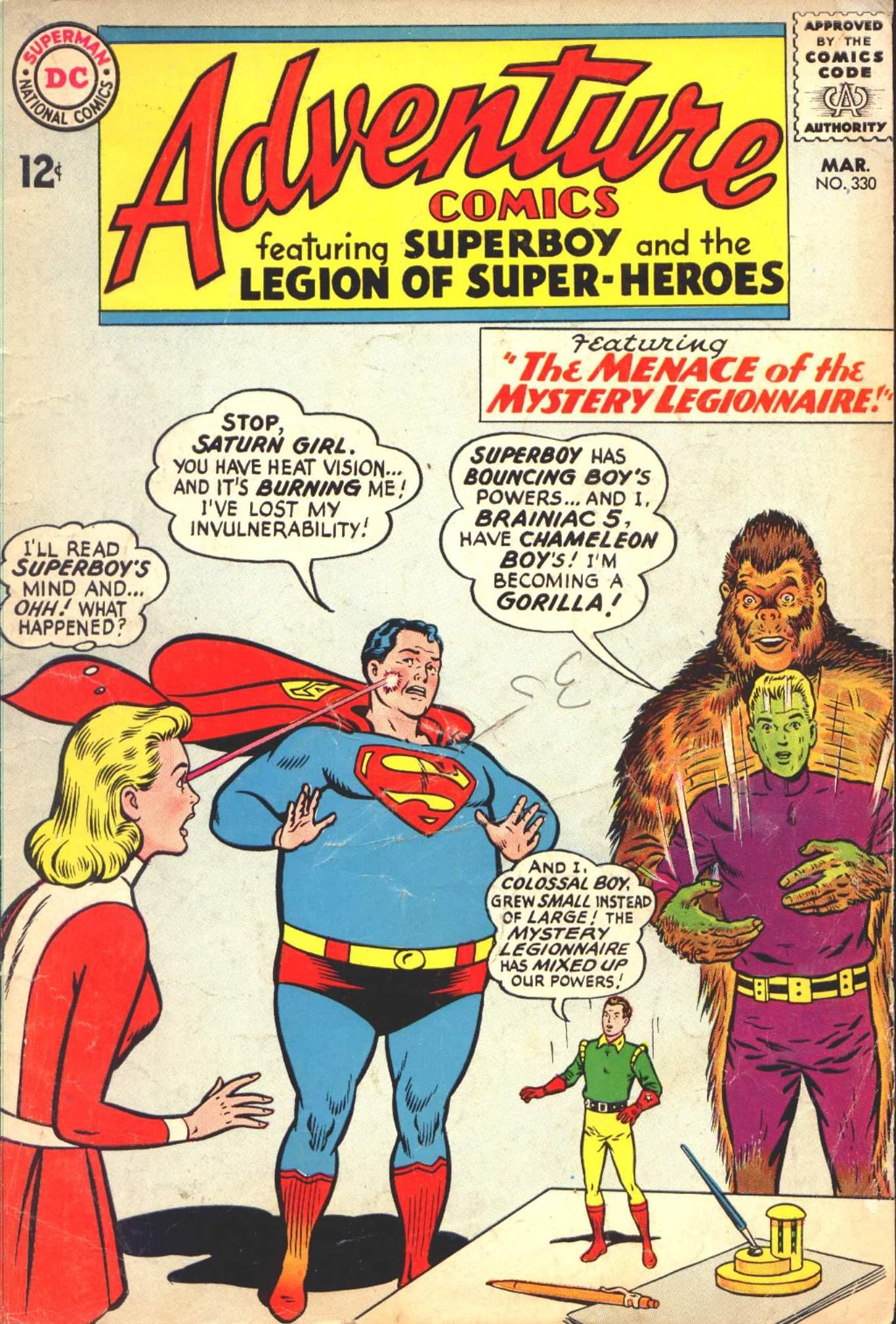 Read online Adventure Comics (1938) comic -  Issue #330 - 1