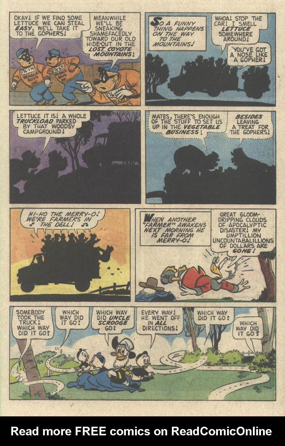 Read online Uncle Scrooge (1953) comic -  Issue #241 - 61