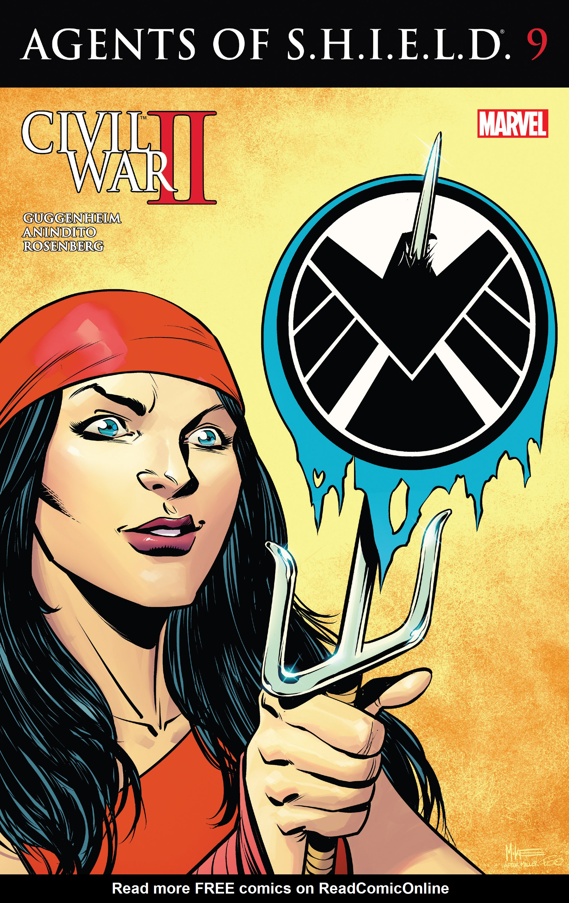 Read online Agents of S.H.I.E.L.D. comic -  Issue #9 - 1