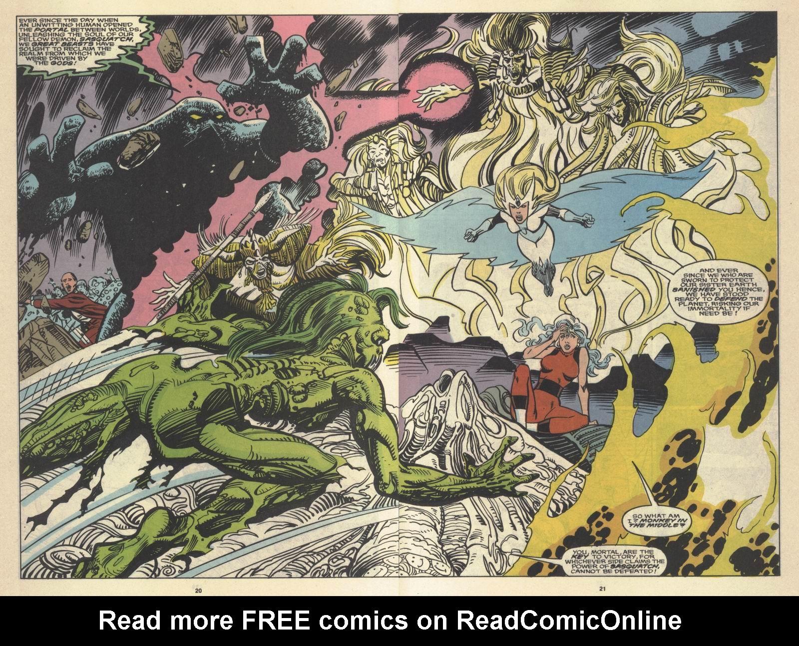 Read online Alpha Flight (1983) comic -  Issue #64 - 21