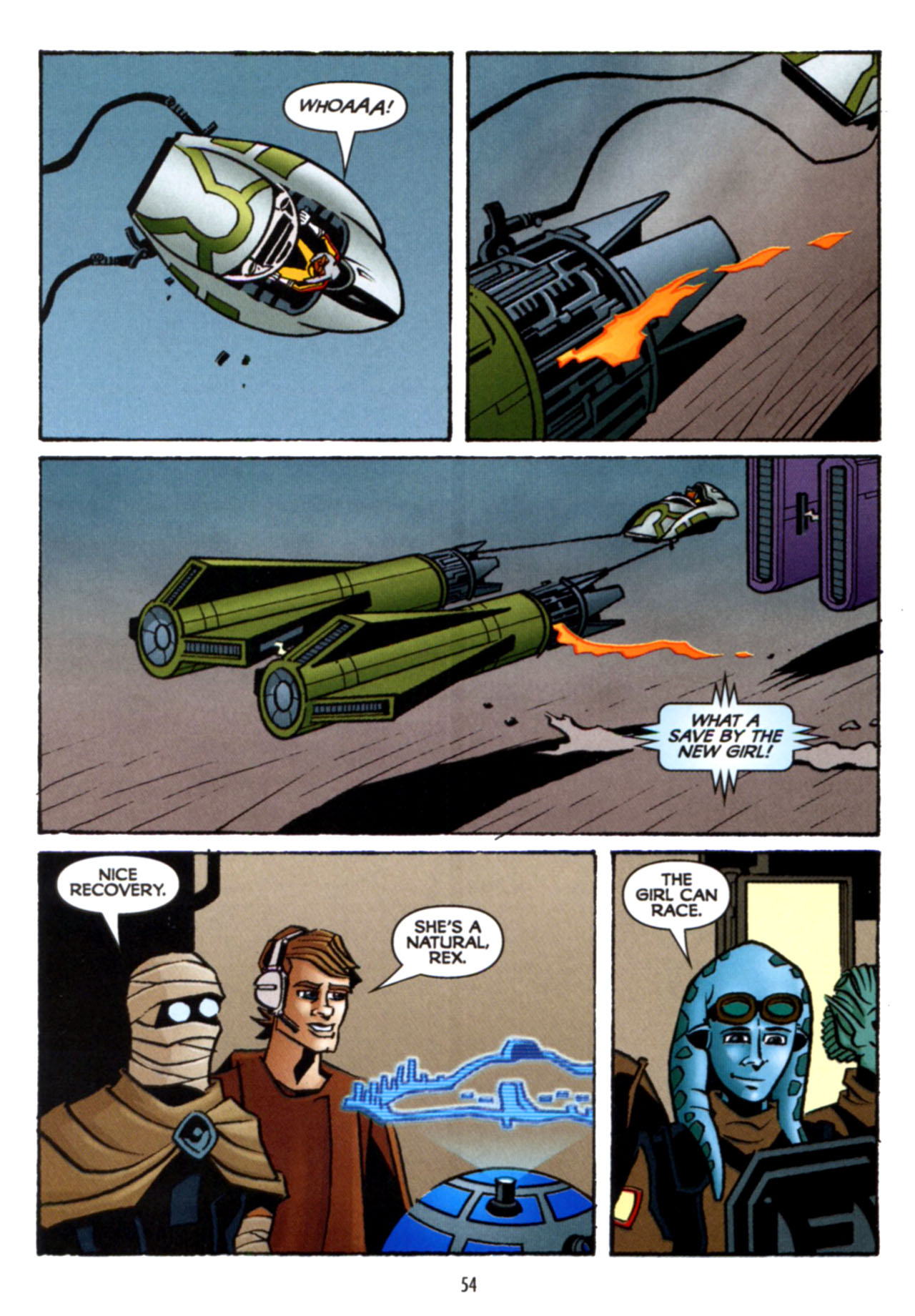 Read online Star Wars: The Clone Wars - Crash Course comic -  Issue # Full - 55
