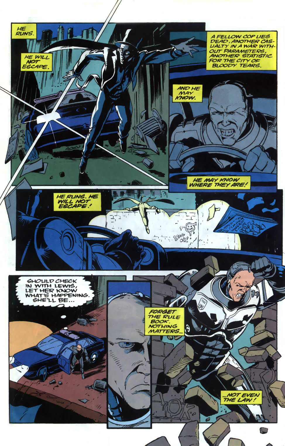 Read online Robocop (1990) comic -  Issue #20 - 14