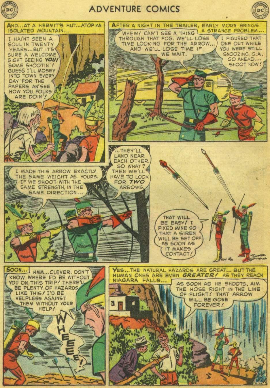 Read online Adventure Comics (1938) comic -  Issue #168 - 38