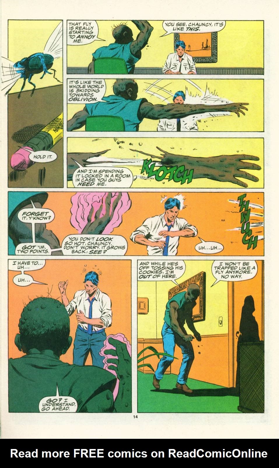 Read online Justice (1986) comic -  Issue #25 - 16