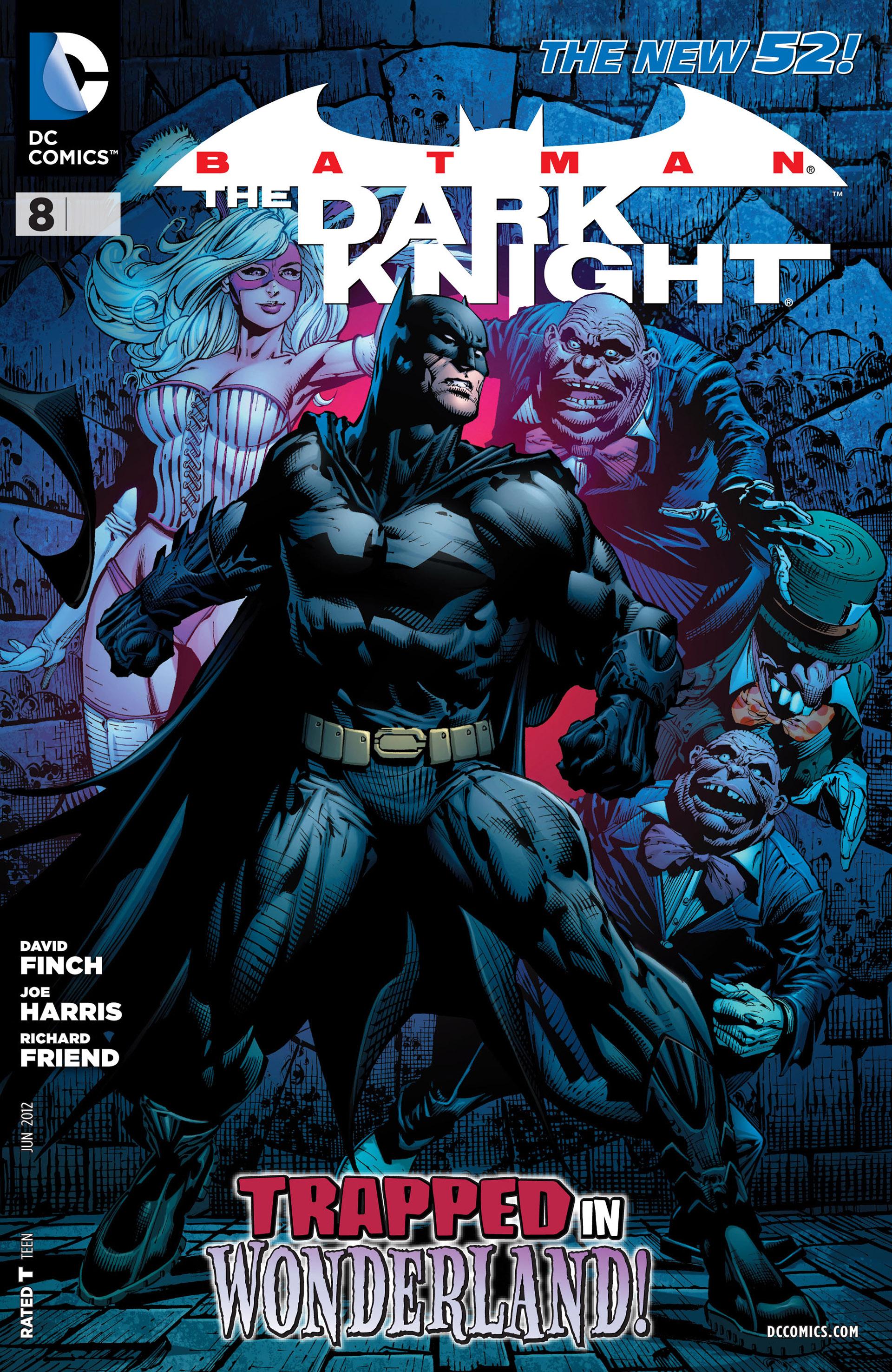 Batman: The Dark Knight [II] (2011) issue 8 - Page 1
