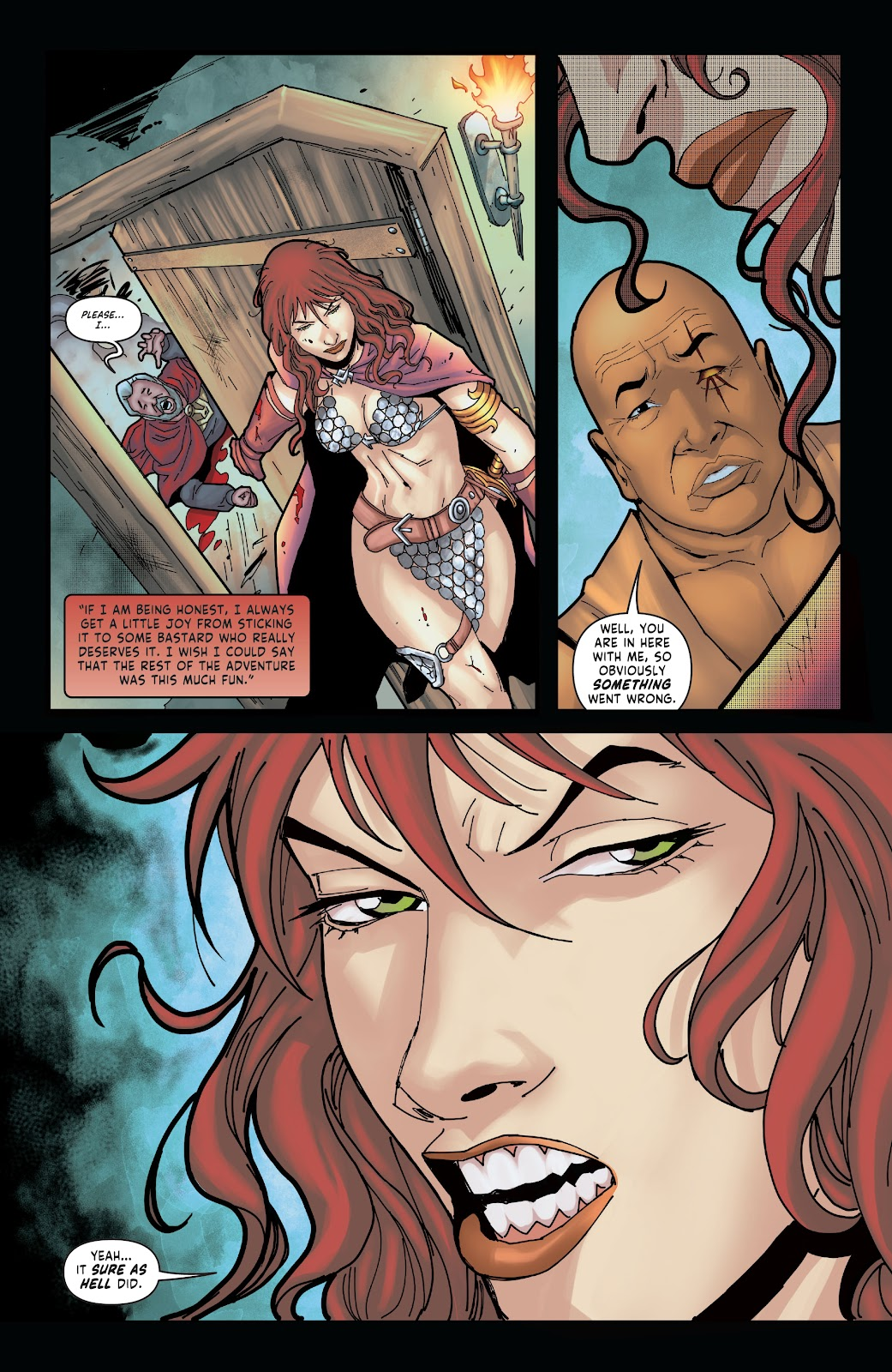 Red Sonja: The Price of Blood issue 2 - Page 28