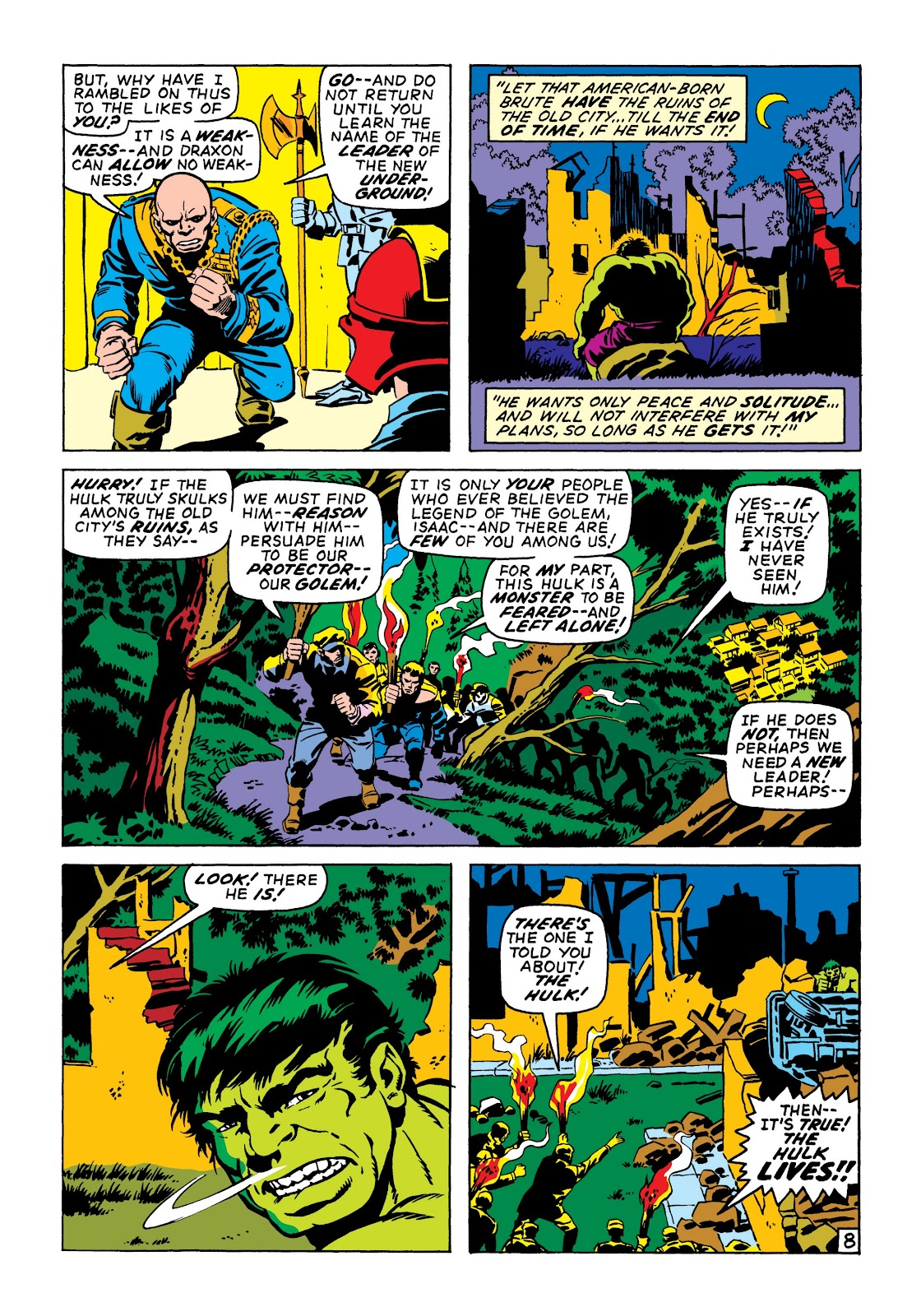 Read online Marvel Masterworks: The Incredible Hulk comic -  Issue # TPB 6 (Part 3) - 62