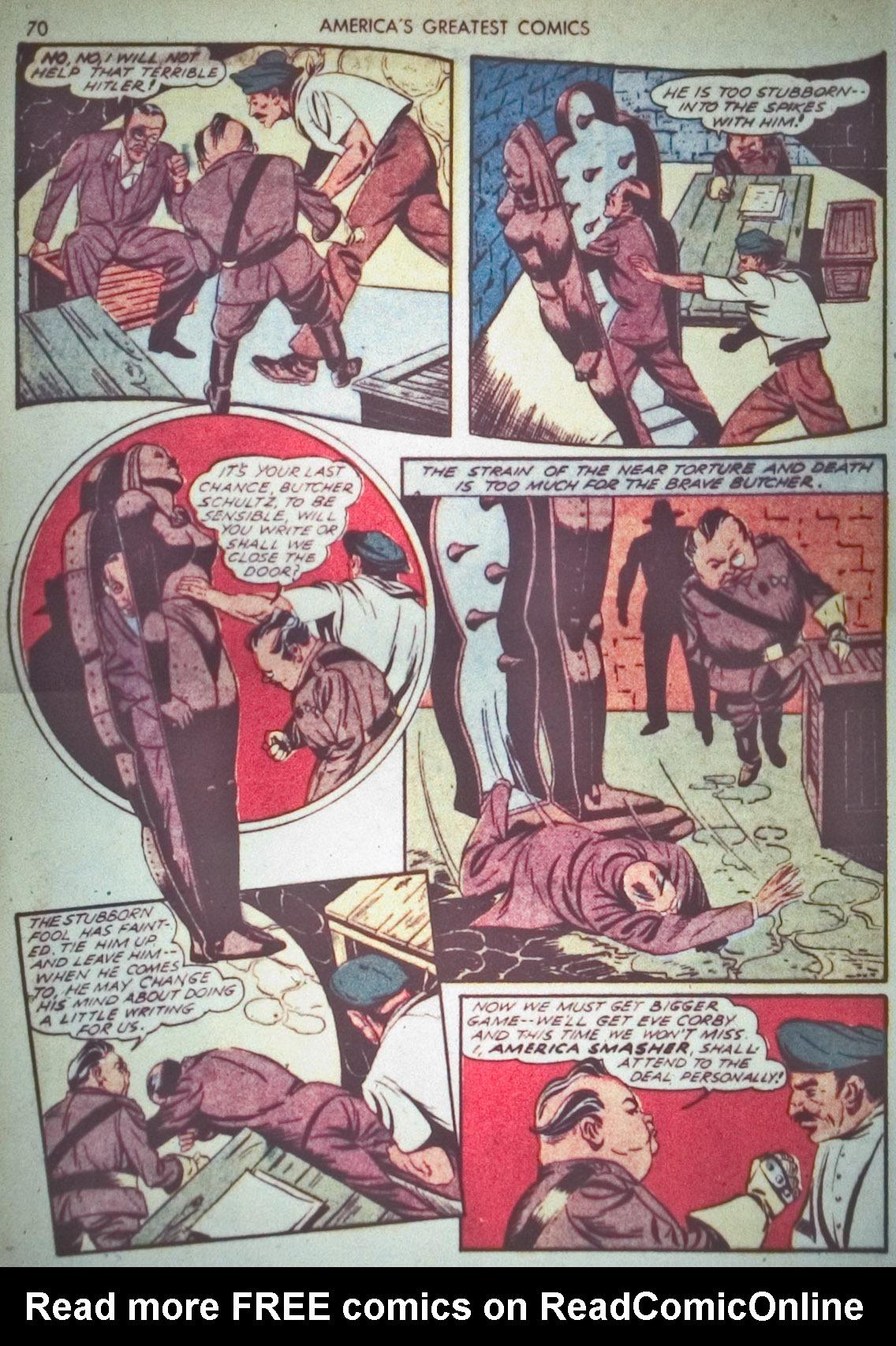 Read online America's Greatest Comics comic -  Issue #1 - 73
