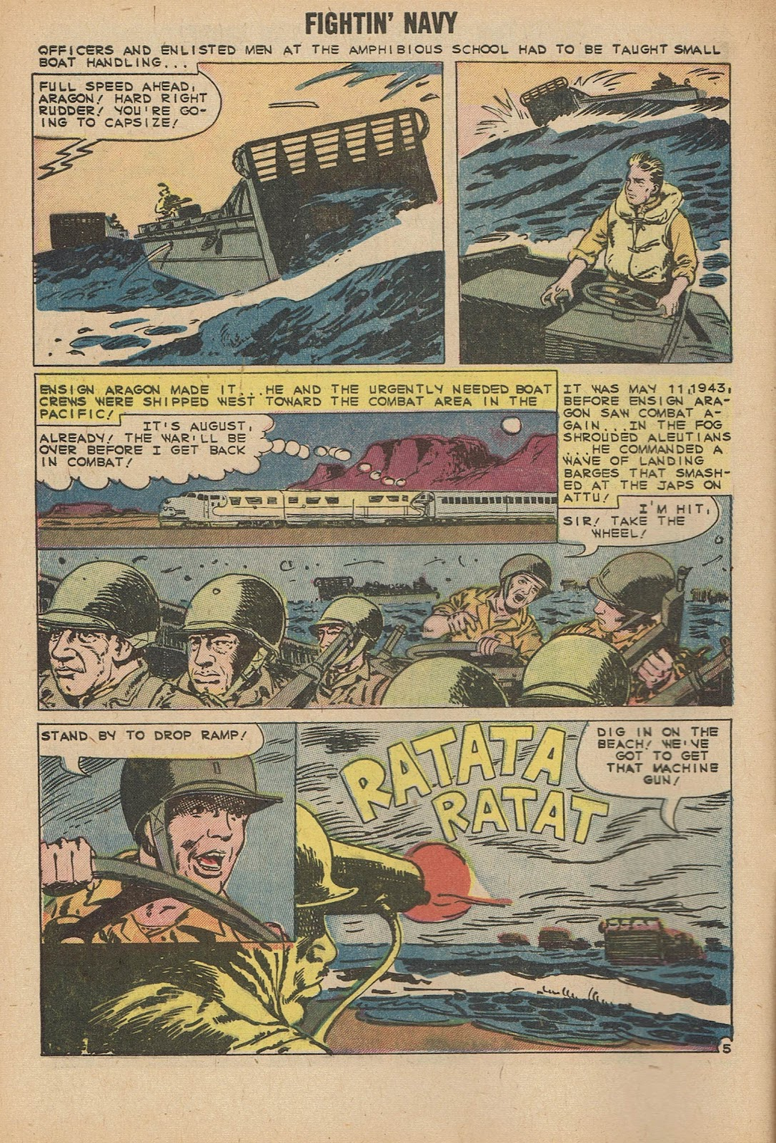 Read online Fightin' Navy comic -  Issue #92 - 8