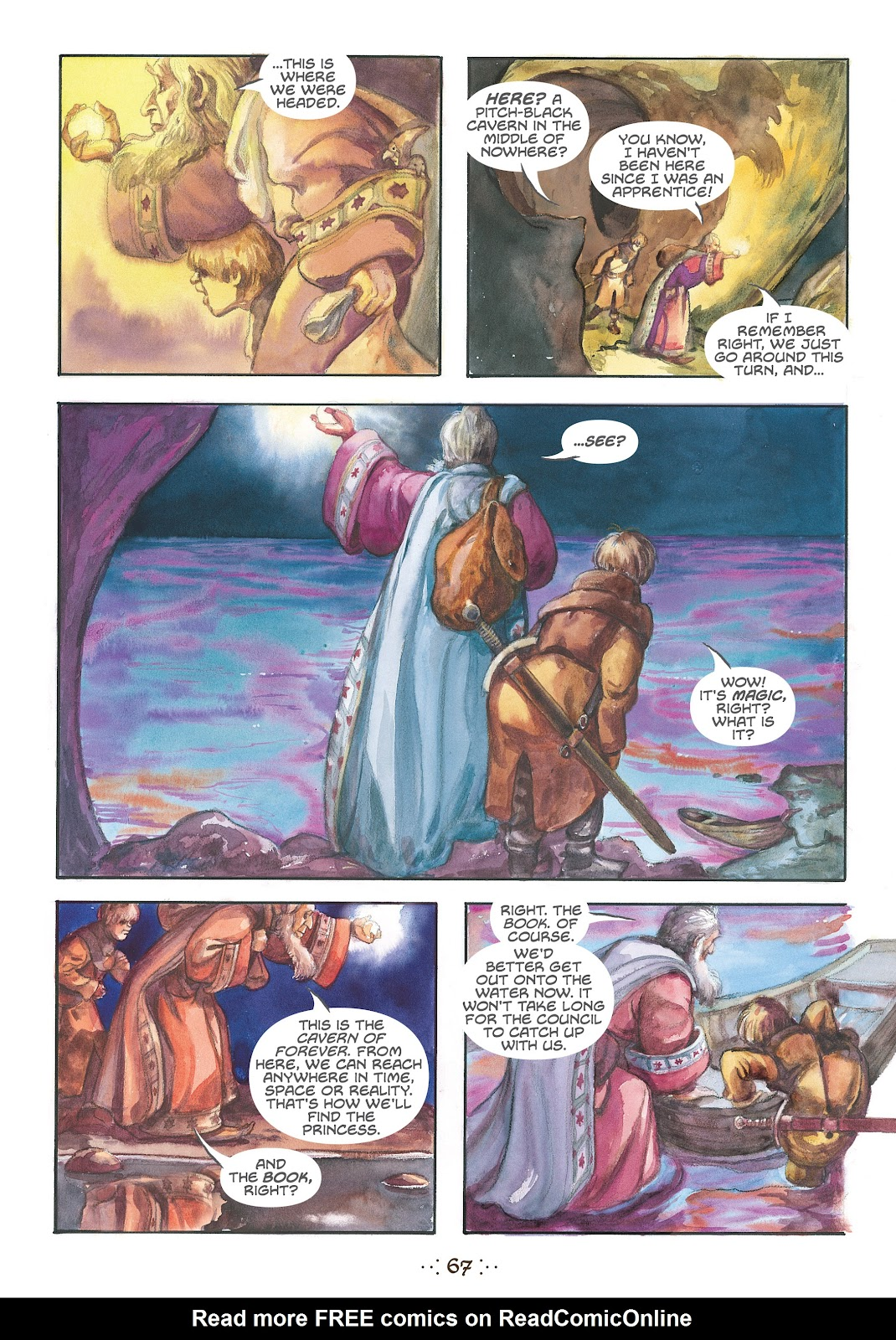Read online The Wizard's Tale comic -  Issue # TPB - 64