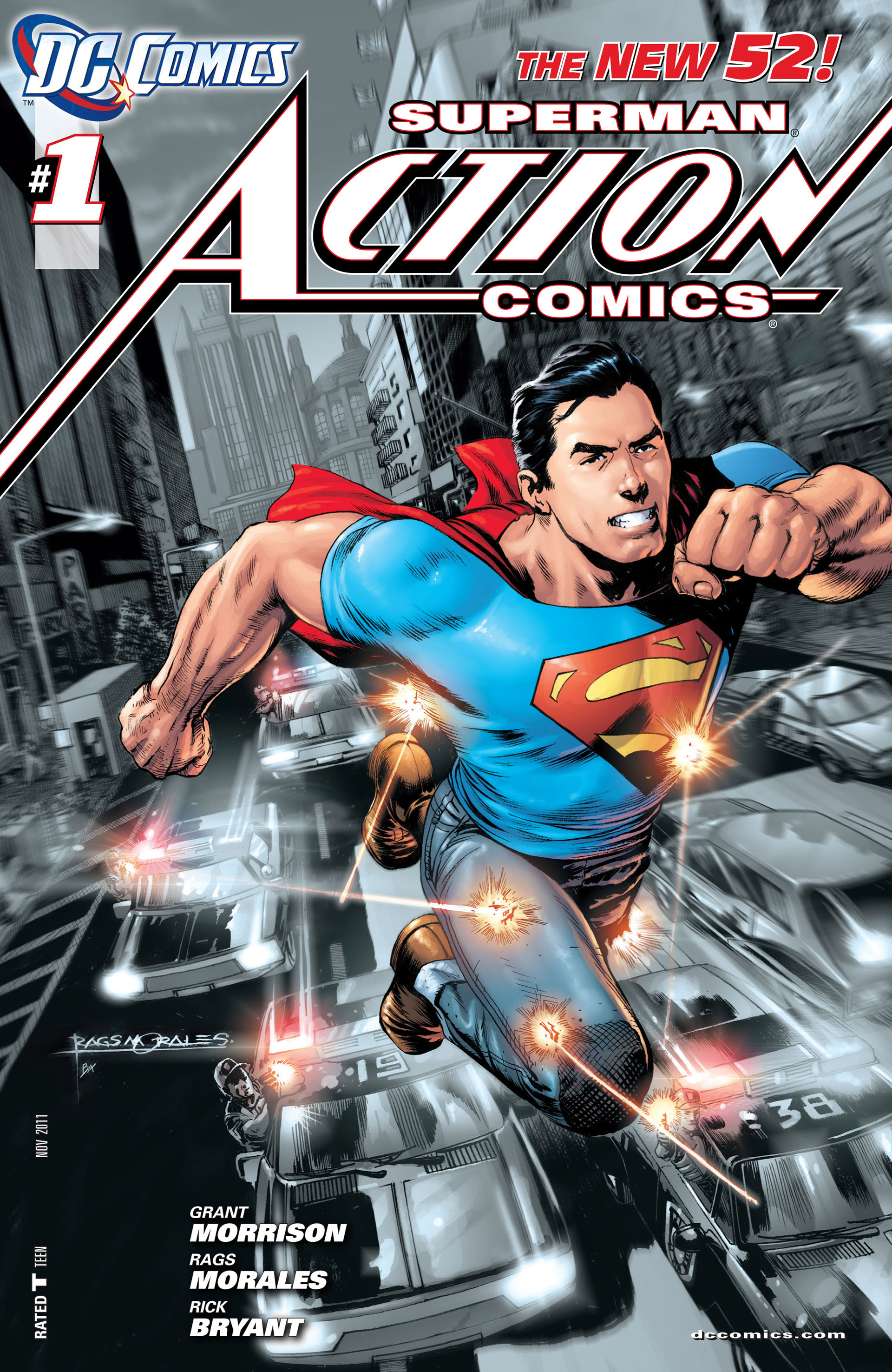 Read online Action Comics (2011) comic -  Issue #1 - 5