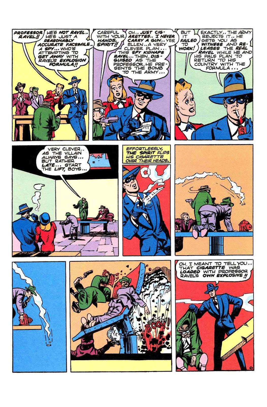 Read online Will Eisner's The Spirit Archives comic -  Issue # TPB 2 (Part 2) - 34