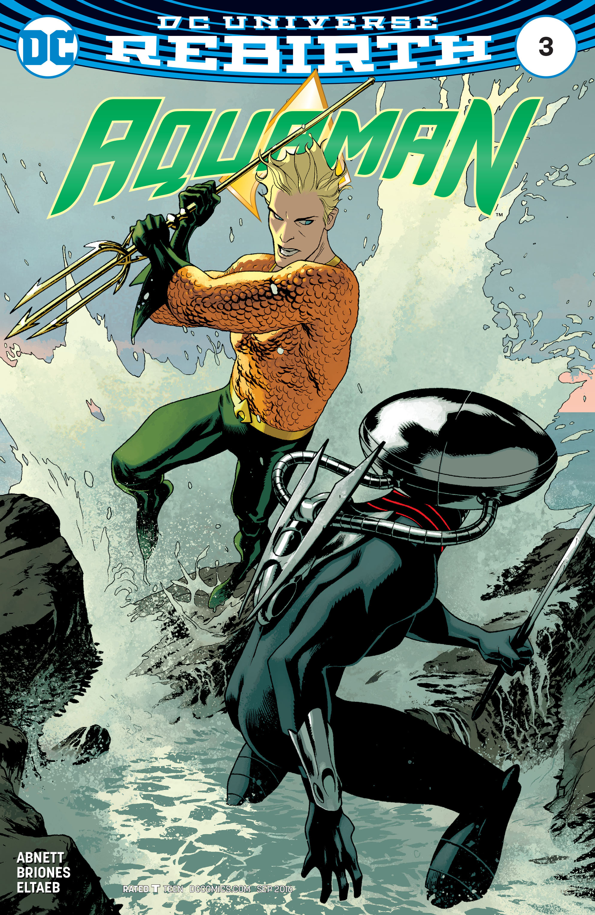 Read online Aquaman (2016) comic -  Issue #3 - 3