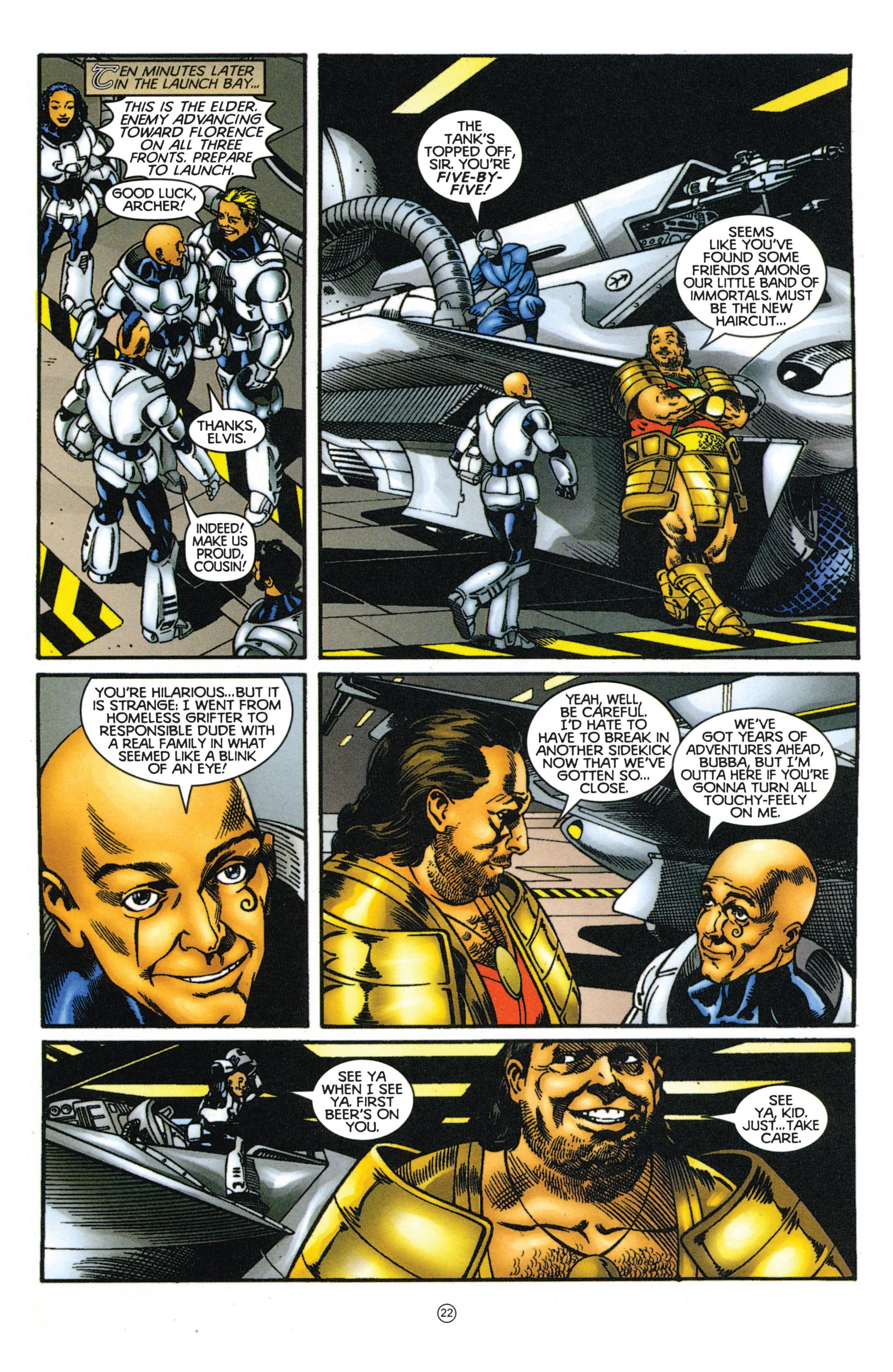 Read online Eternal Warriors comic -  Issue # Issue Mog - 19