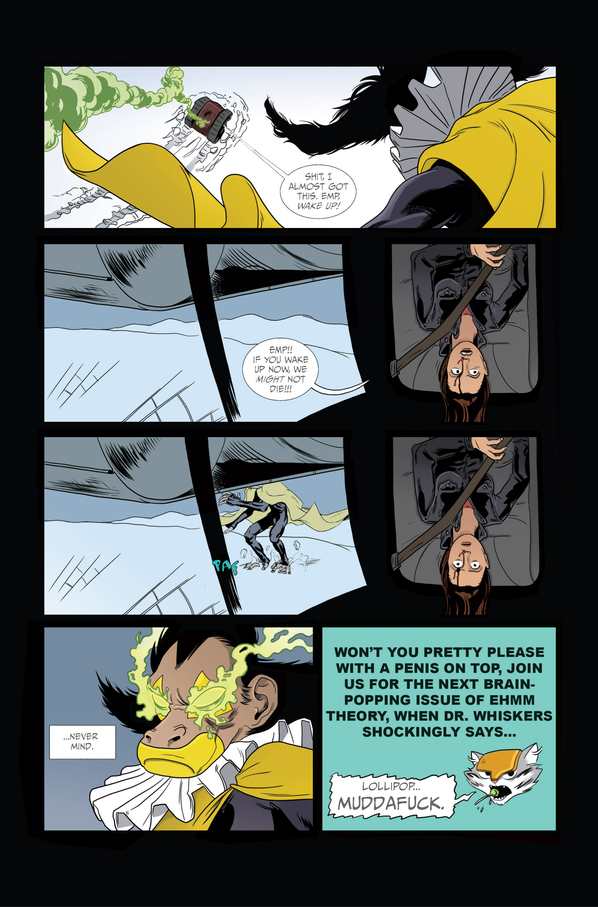 Read online Ehmm Theory: Everything & Small Doses comic -  Issue #2 - 26