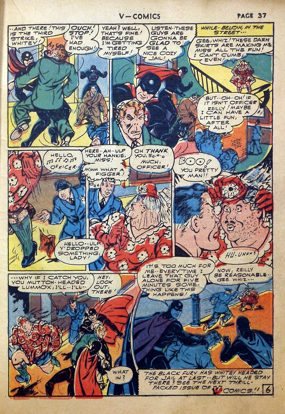 Read online V...- Comics comic -  Issue #2 - 38