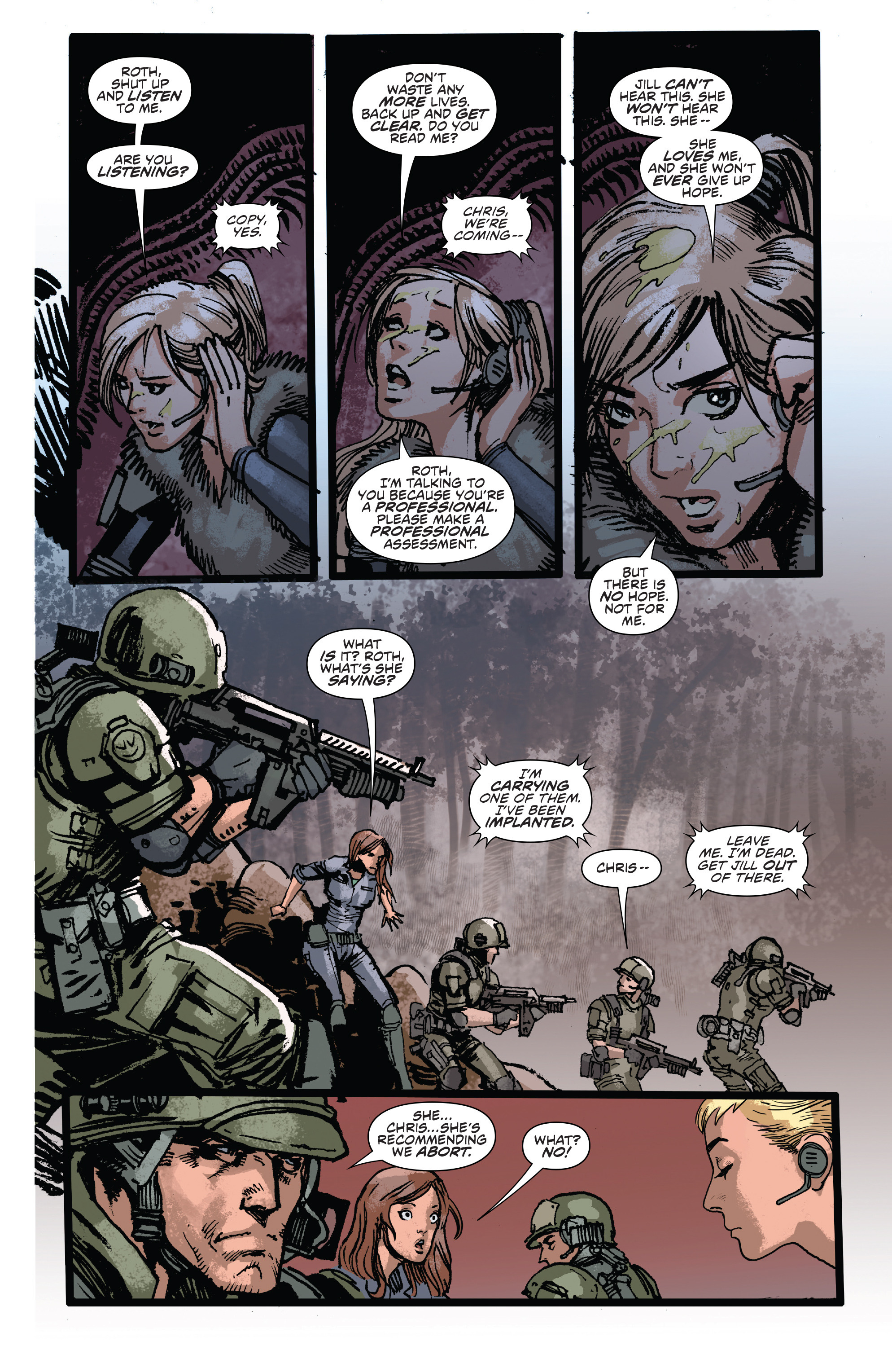 Read online Aliens: Life And Death comic -  Issue #3 - 7