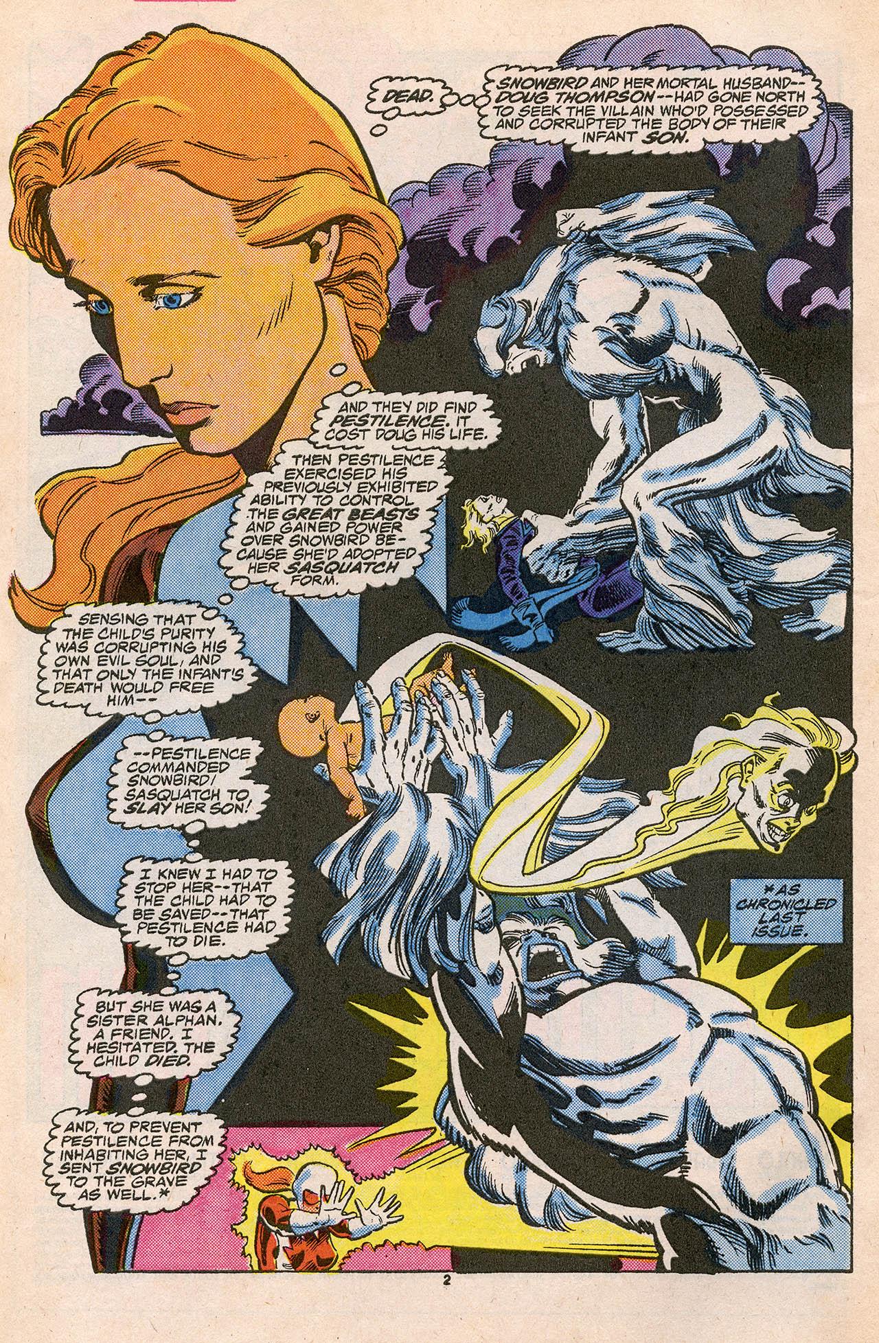 Read online Alpha Flight (1983) comic -  Issue #45 - 4