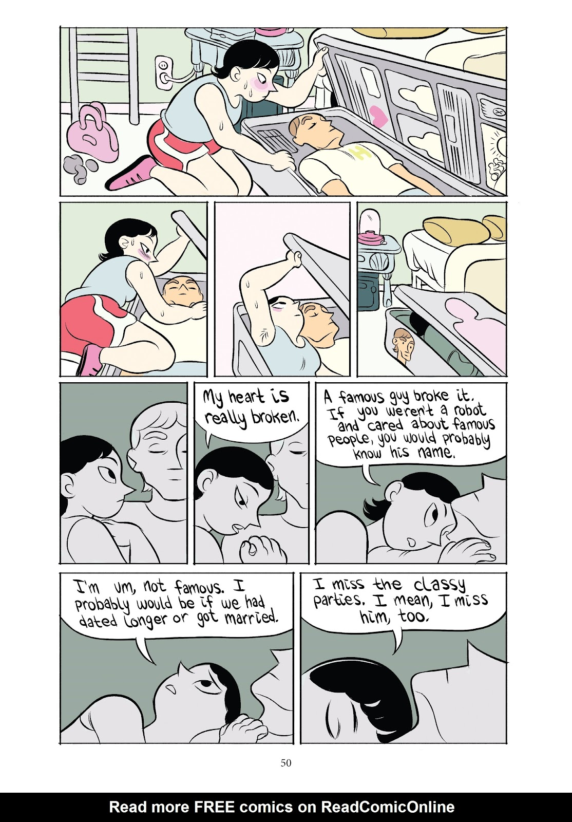 Read online Girl Town comic -  Issue # TPB (Part 1) - 50
