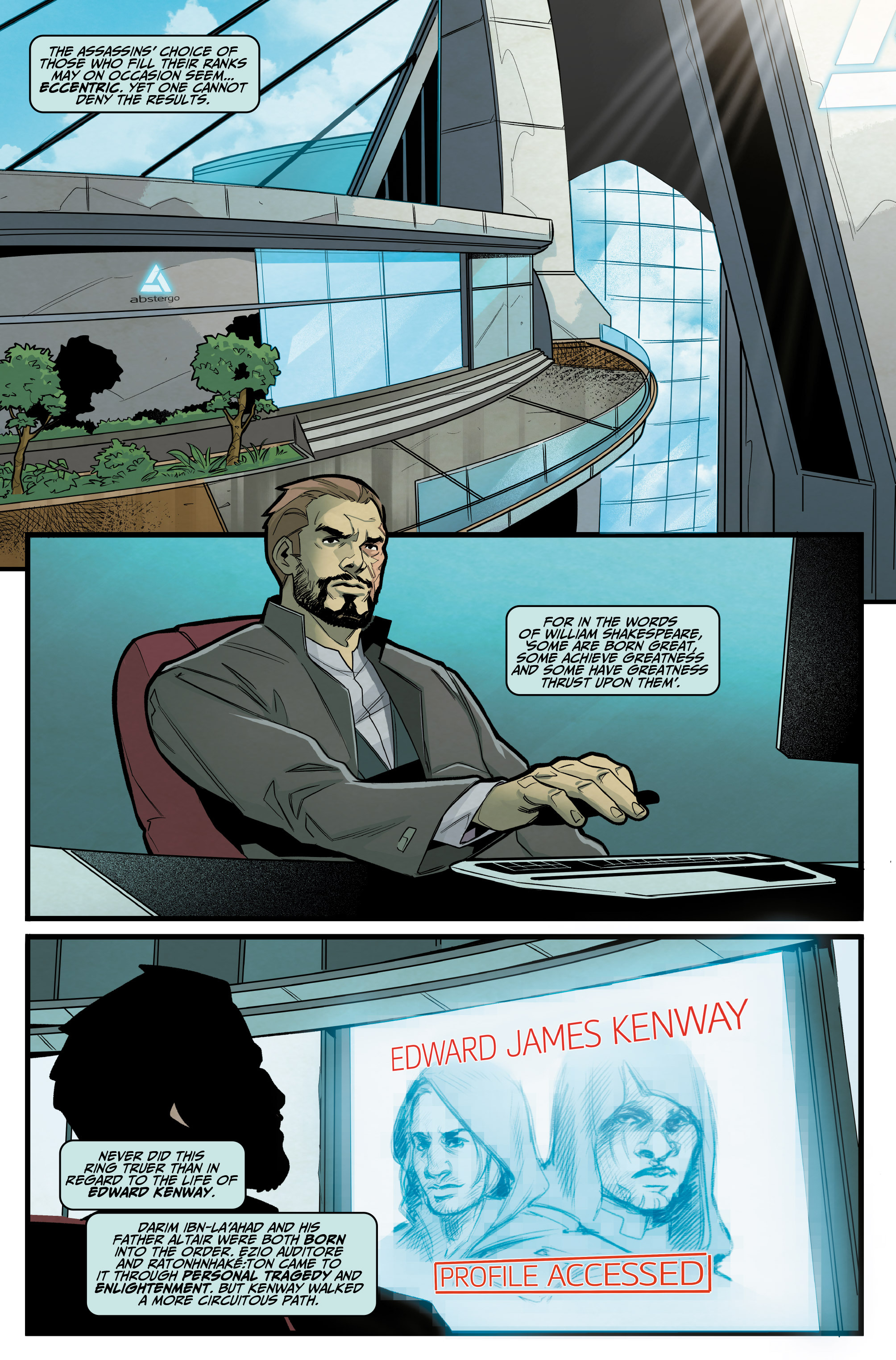 Read online Assassin's Creed: Reflections comic -  Issue #3 - 3