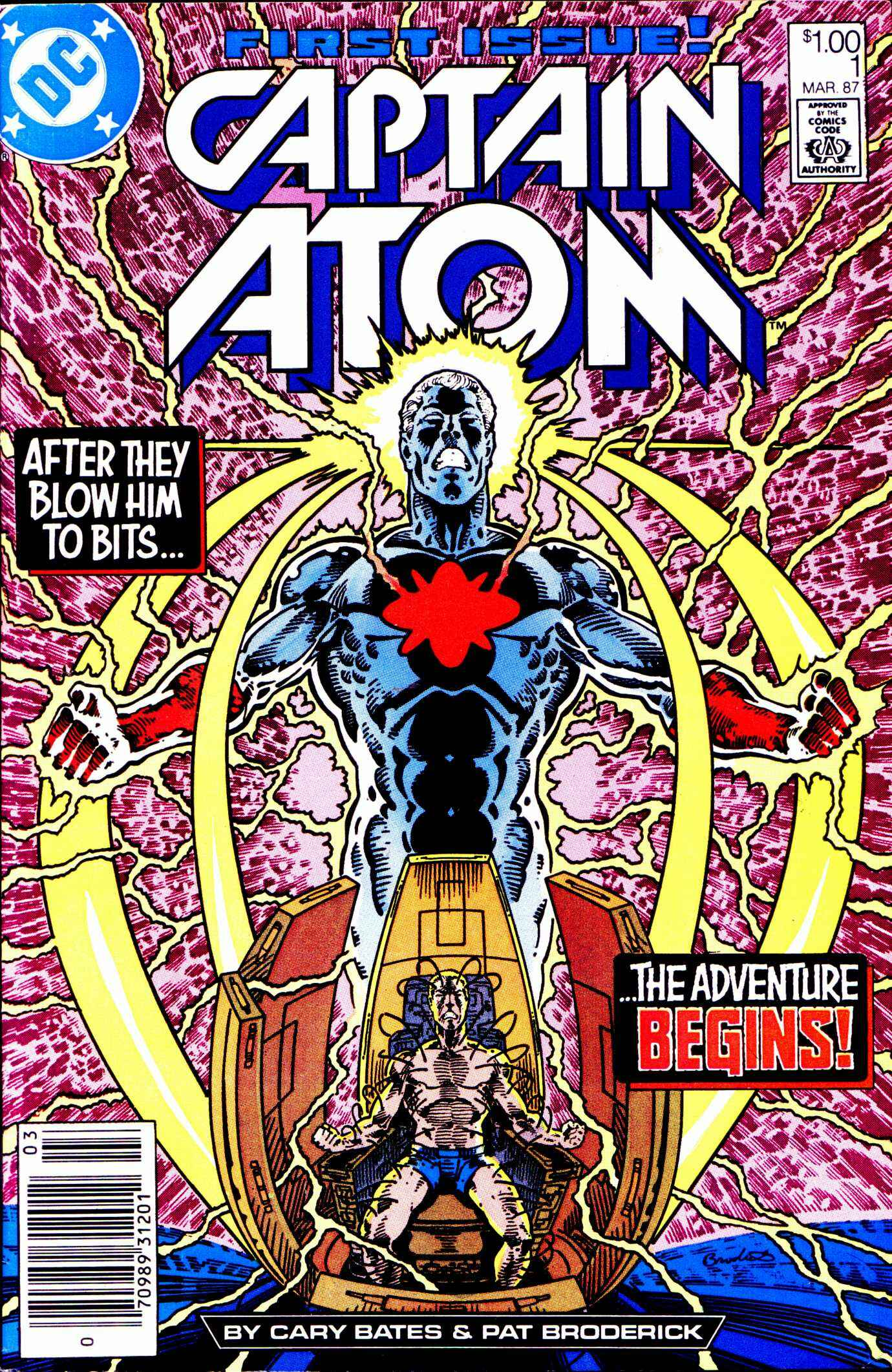 Captain Atom (1987) 1 Page 1