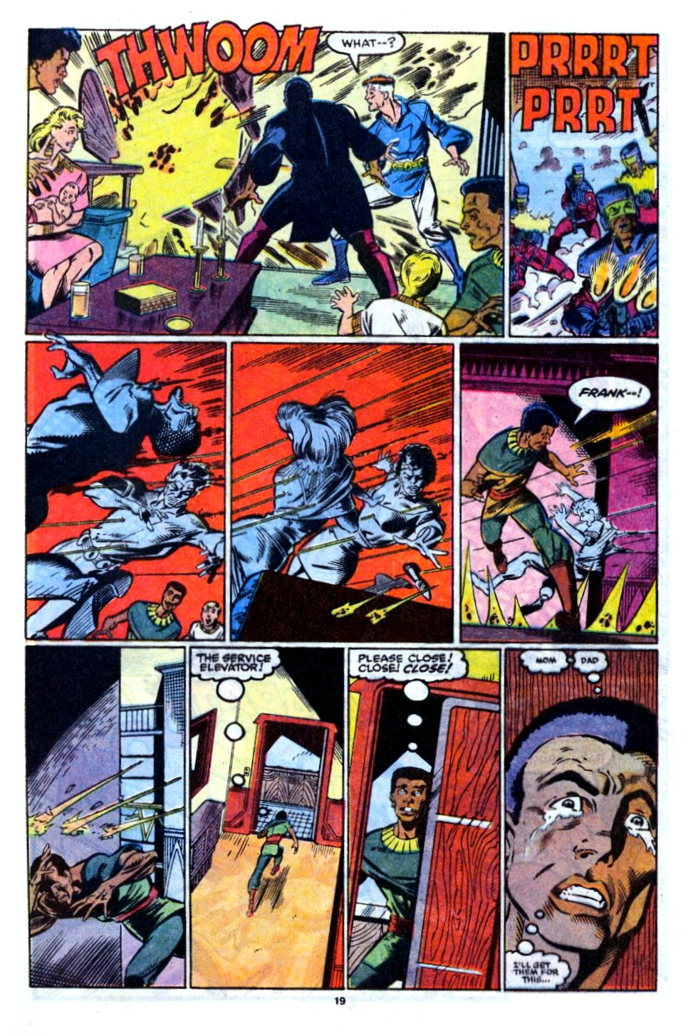 The New Warriors Issue #12 #16 - English 16