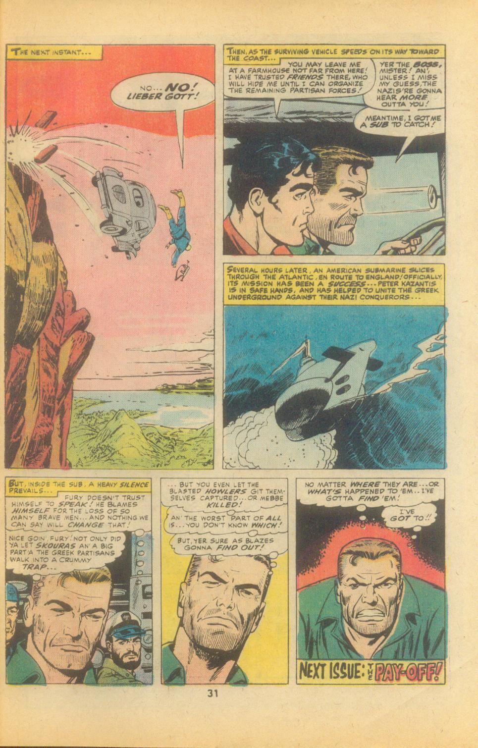 Read online Sgt. Fury comic -  Issue #135 - 33