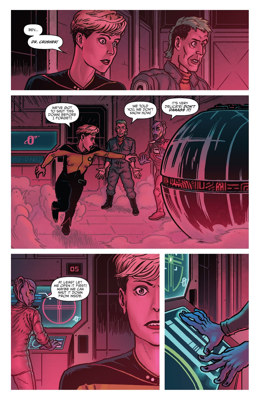 Read online Star Trek: Waypoint Special 2019 comic -  Issue # Full - 21