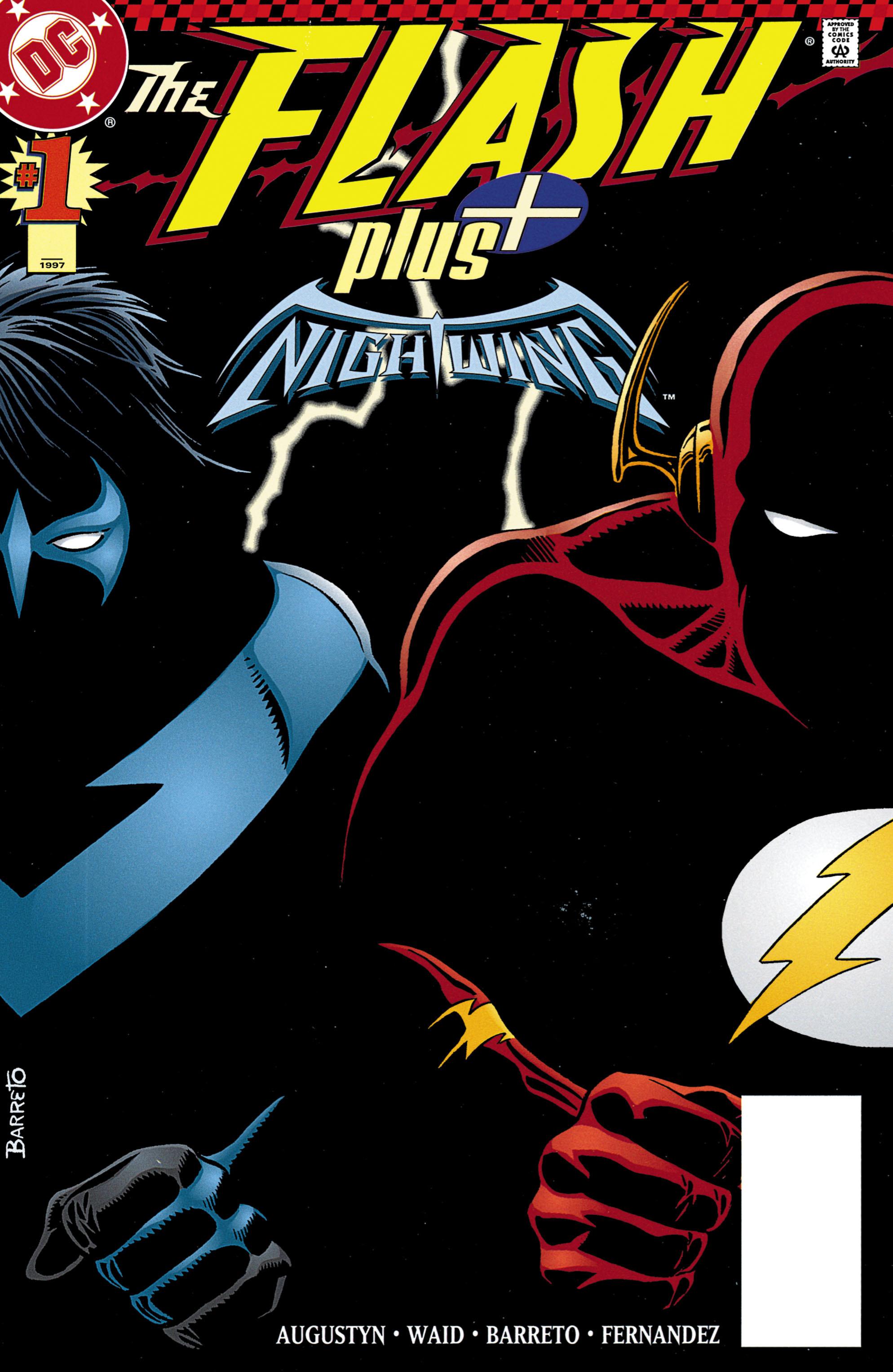 Read online Flash Plus comic -  Issue # Full - 1