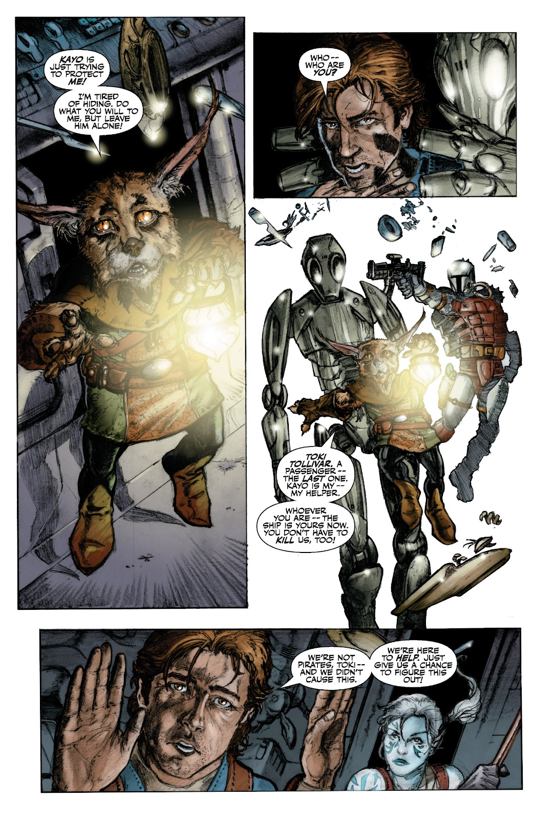 Read online Star Wars Legends: The Old Republic - Epic Collection comic -  Issue # TPB 3 (Part 1) - 13