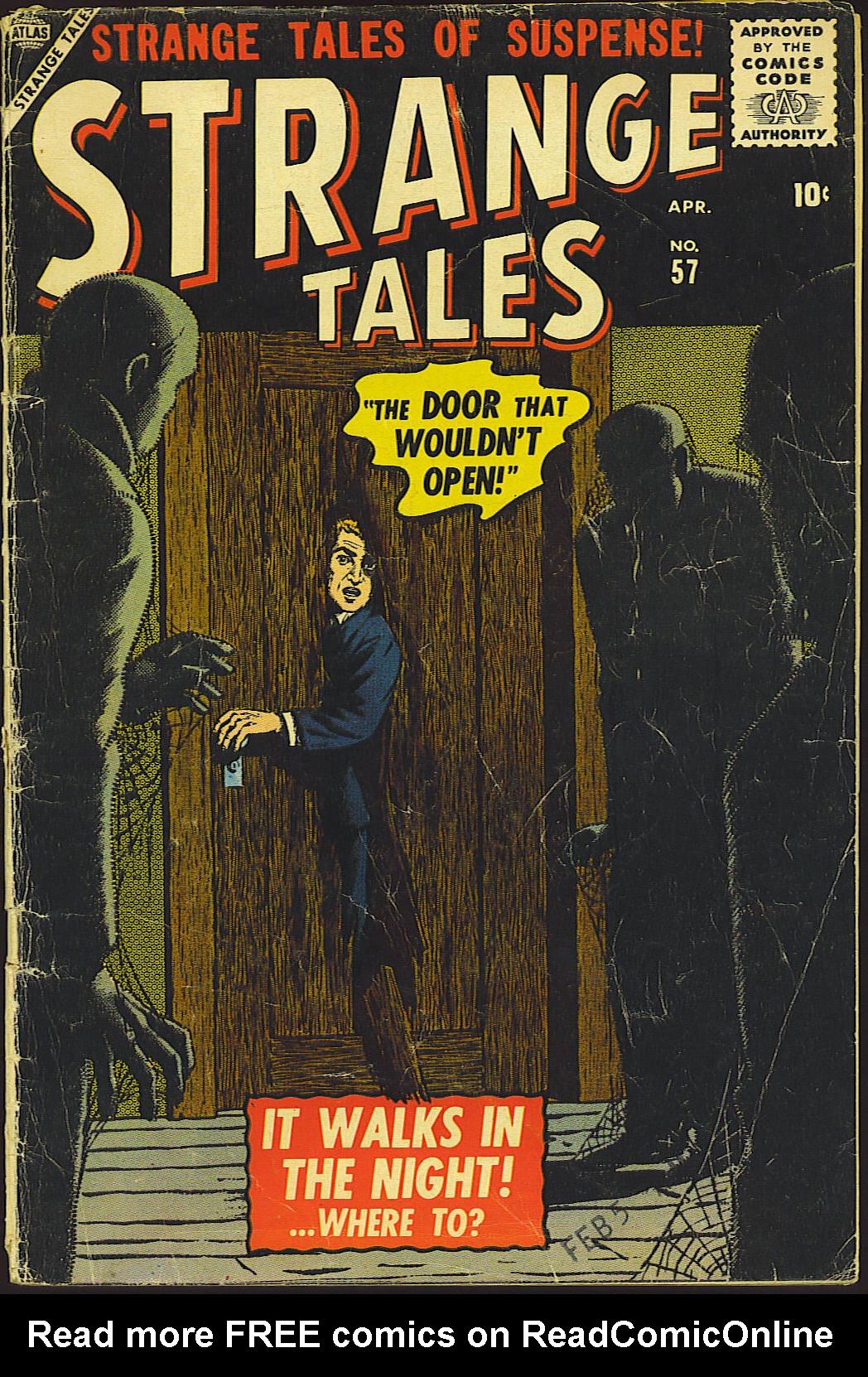 Strange Tales (1951) 57 Page 1