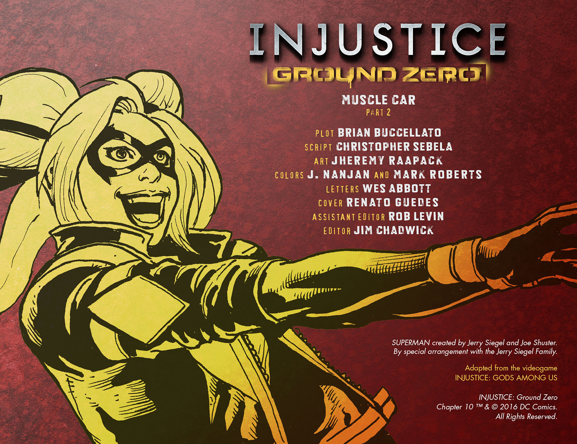Read online Injustice: Ground Zero comic -  Issue #10 - 3