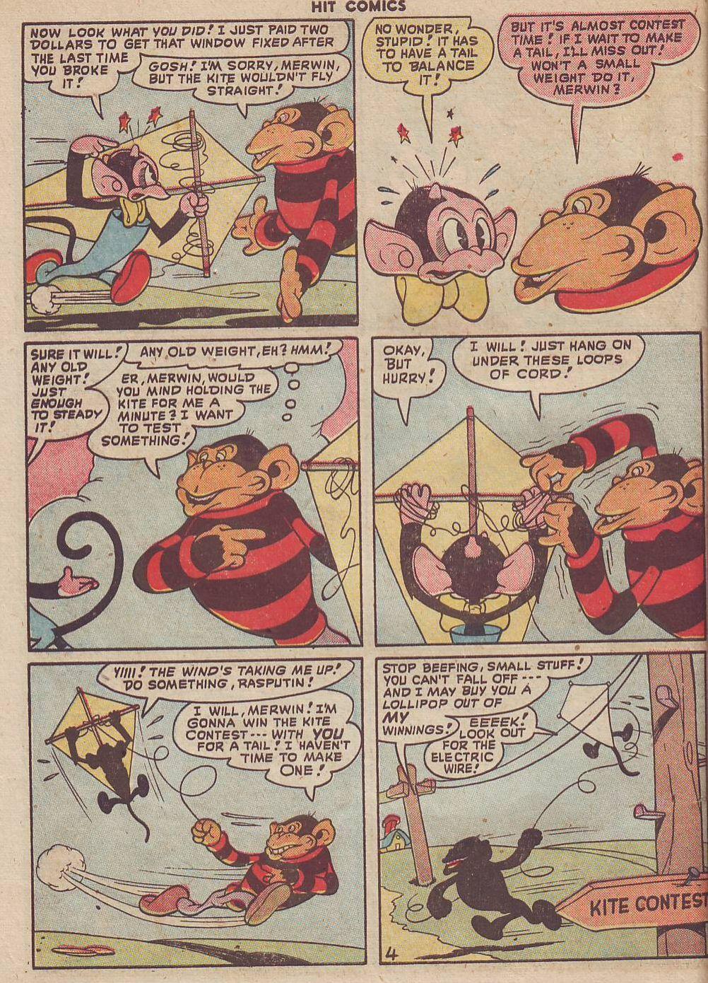 Read online Hit Comics comic -  Issue #51 - 48