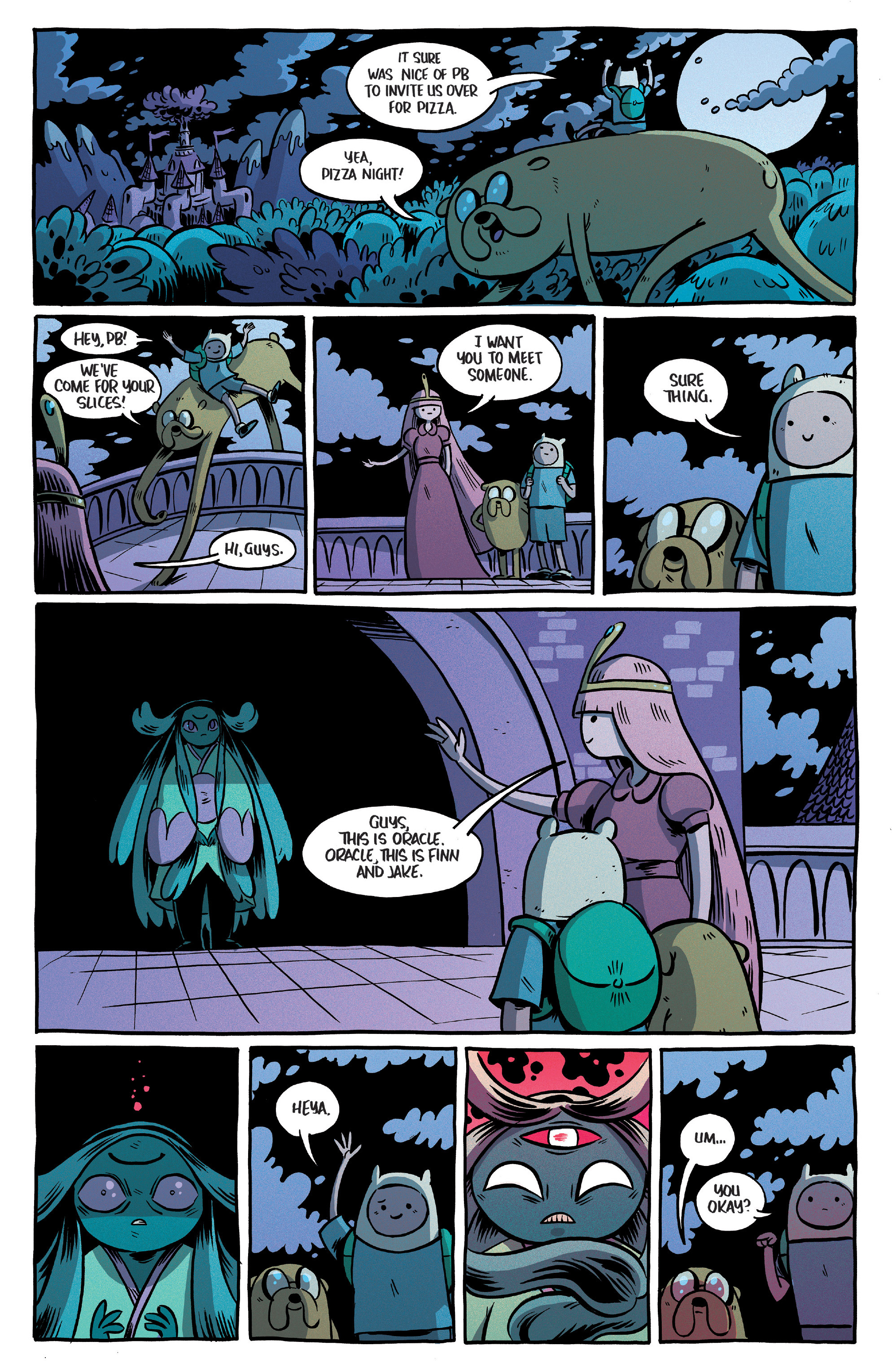 Read online Adventure Time Comics comic -  Issue #10 - 21