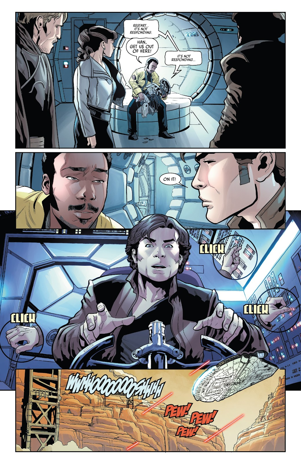 Read online Solo: A Star Wars Story Adaptation comic -  Issue #4 - 19