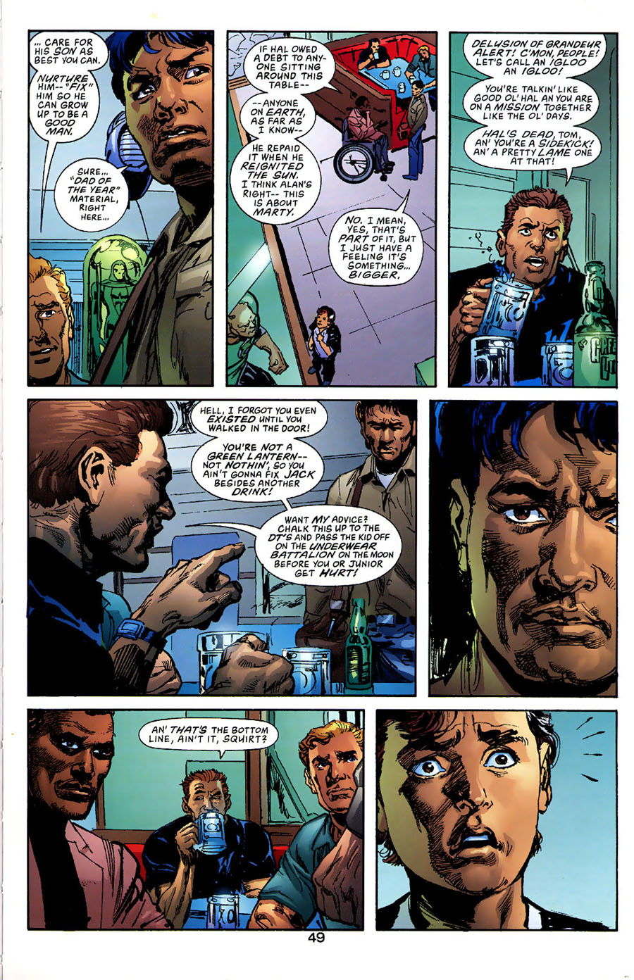 Read online Green Lantern: Legacy: The Last Will and Testament of Hal Jordan comic -  Issue # TPB - 54
