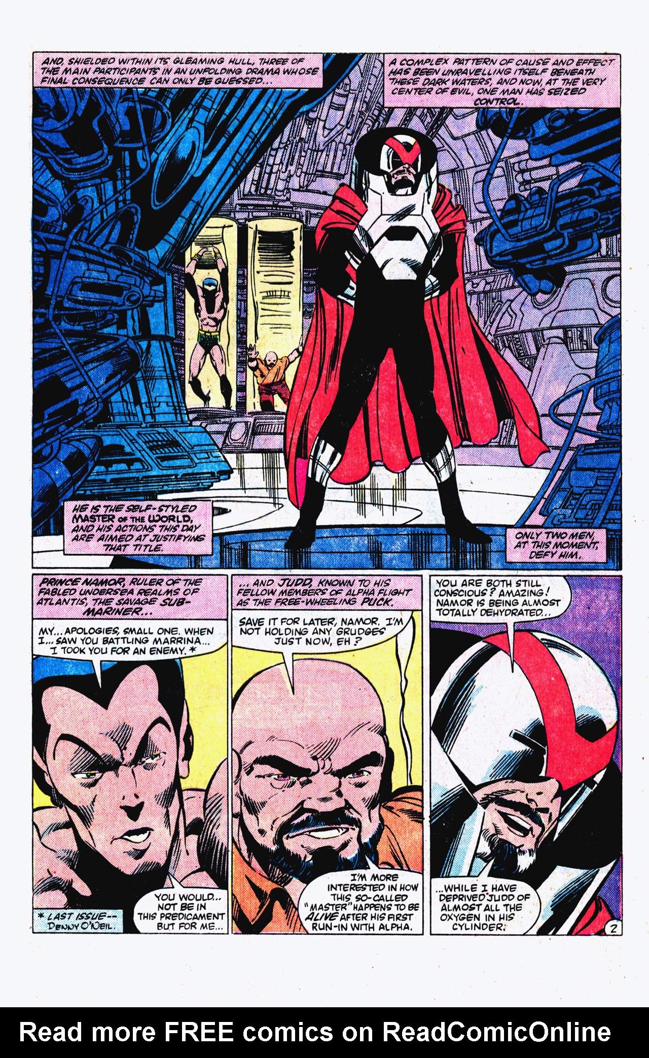 Read online Alpha Flight (1983) comic -  Issue #16 - 3