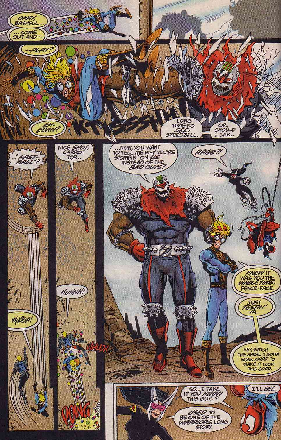The New Warriors Issue #64 #68 - English 8