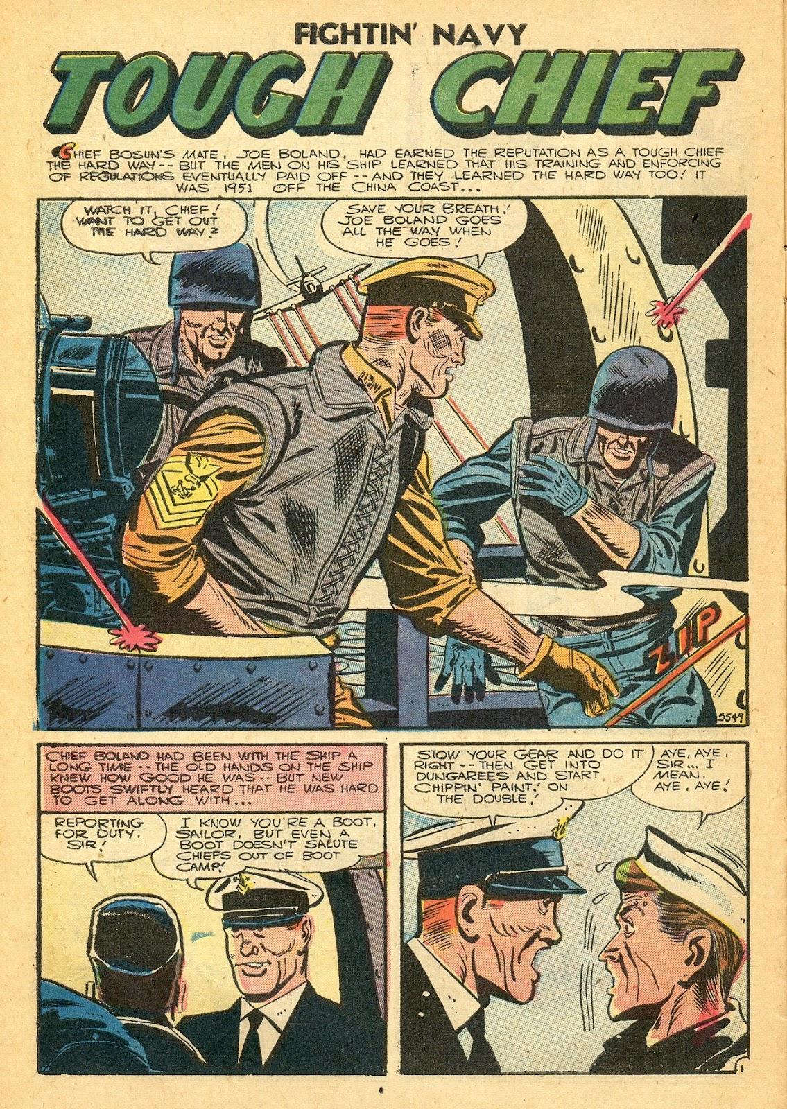 Read online Fightin' Navy comic -  Issue #77 - 10