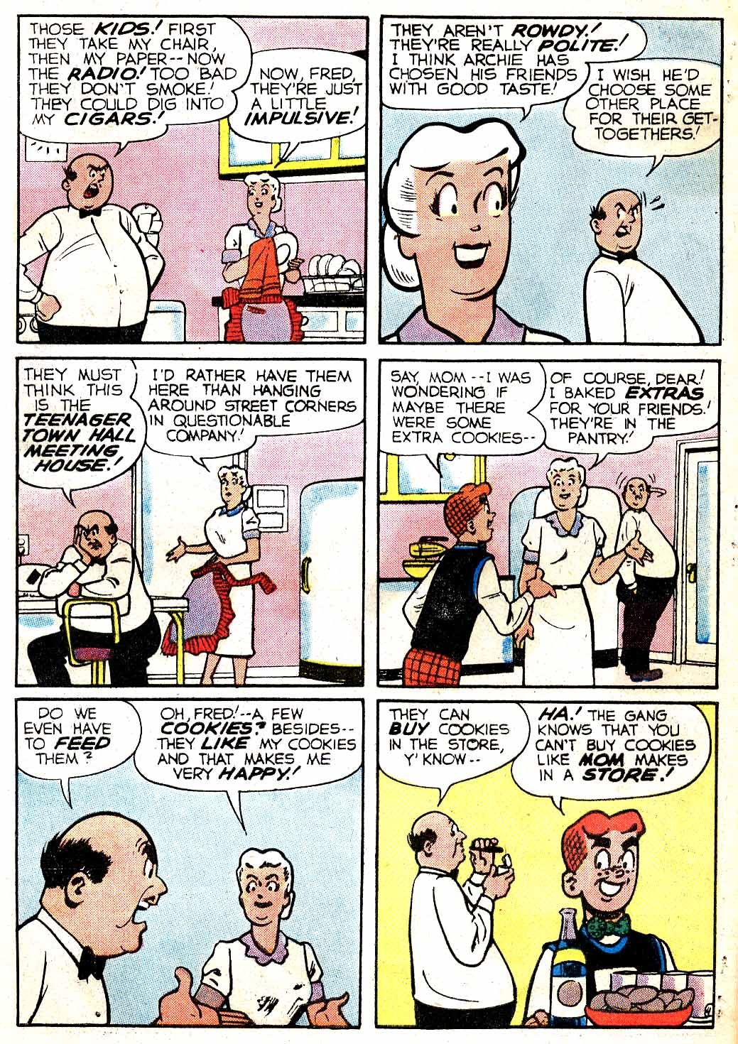 Read online Archie (1960) comic -  Issue #115 - 32