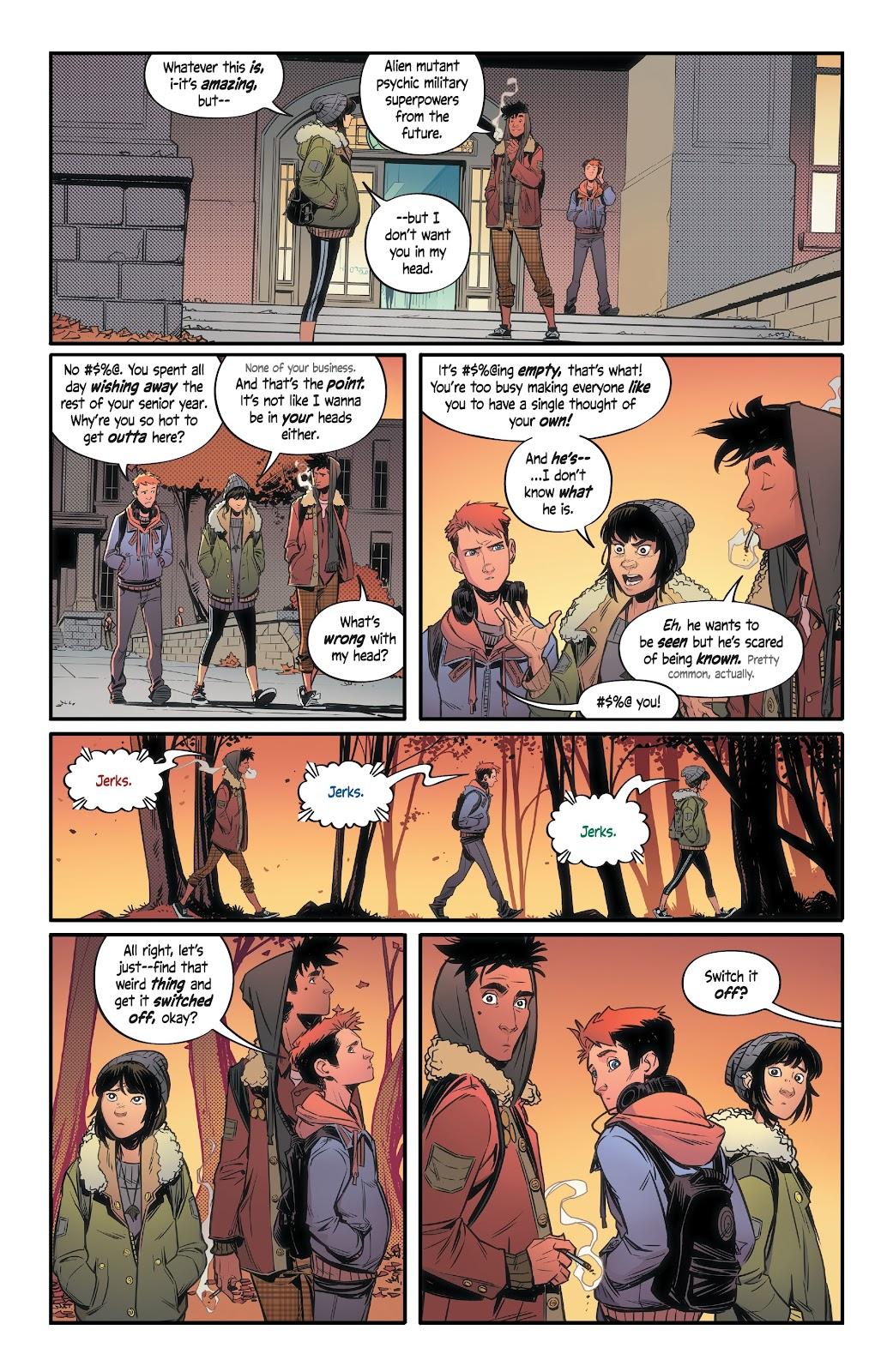 Read online Alienated comic -  Issue #1 - 18