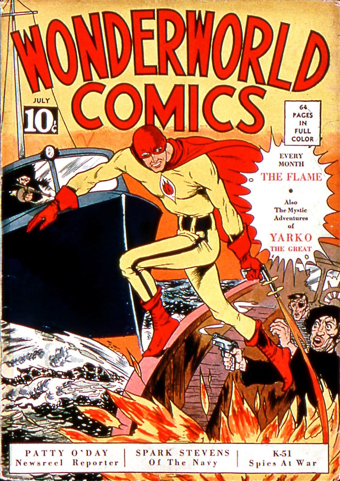 Wonderworld Comics issue 3 - Page 1